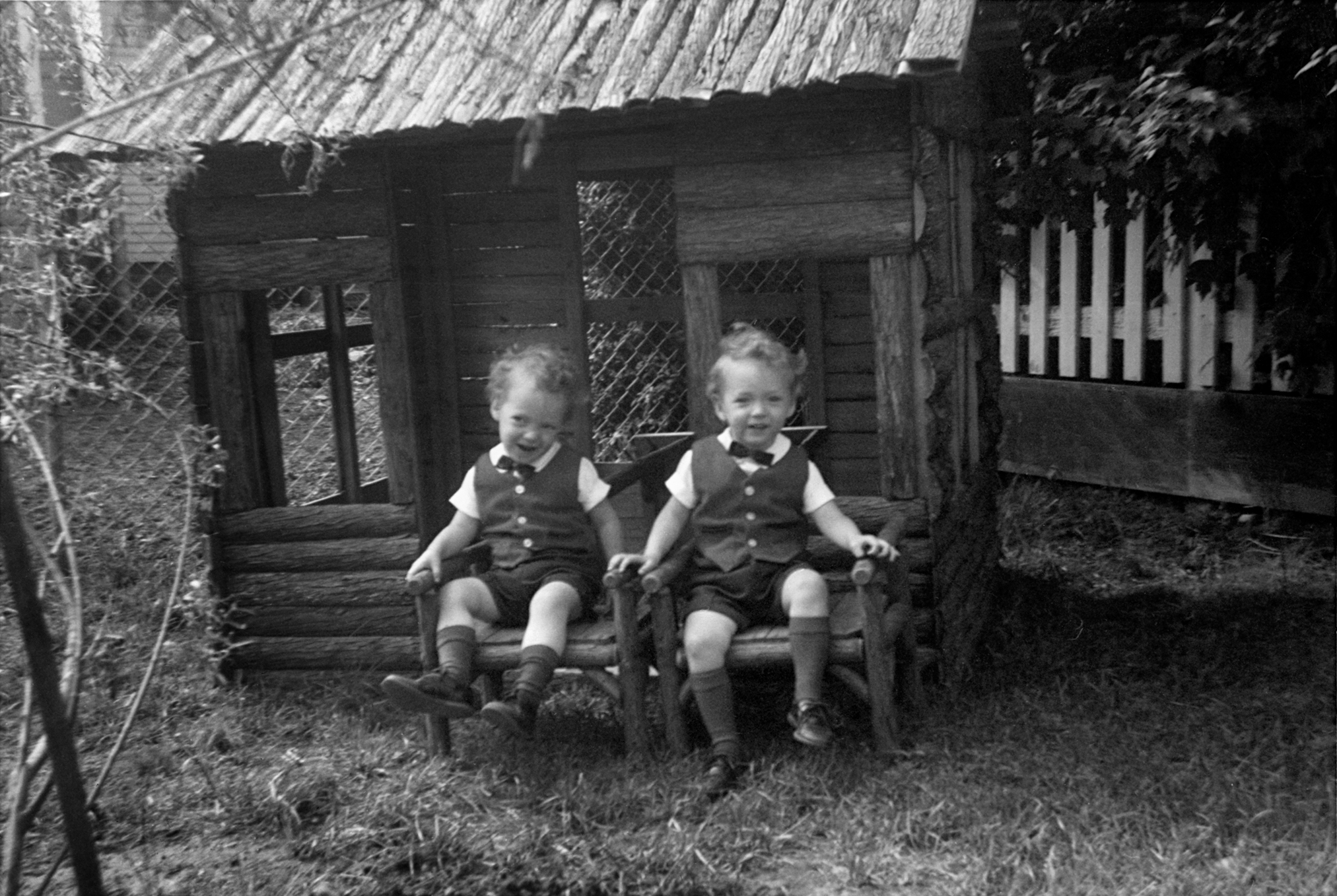 At age 2, Mark and Scott in 1966