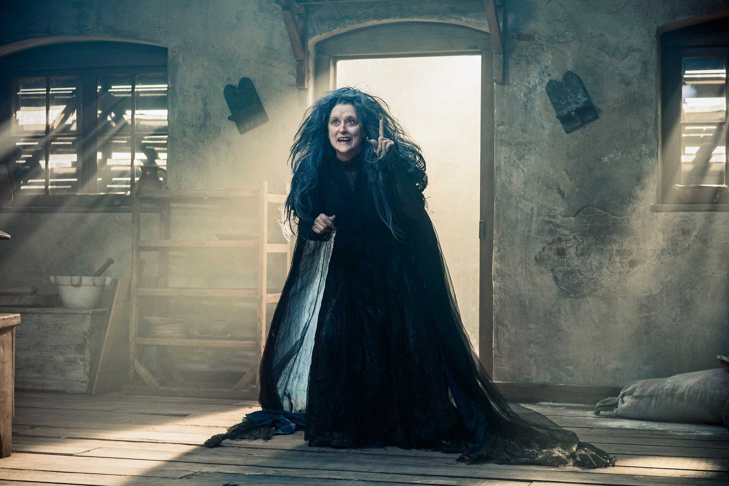 Meryl Streep stars as the Witch in Disney's Into the Woods