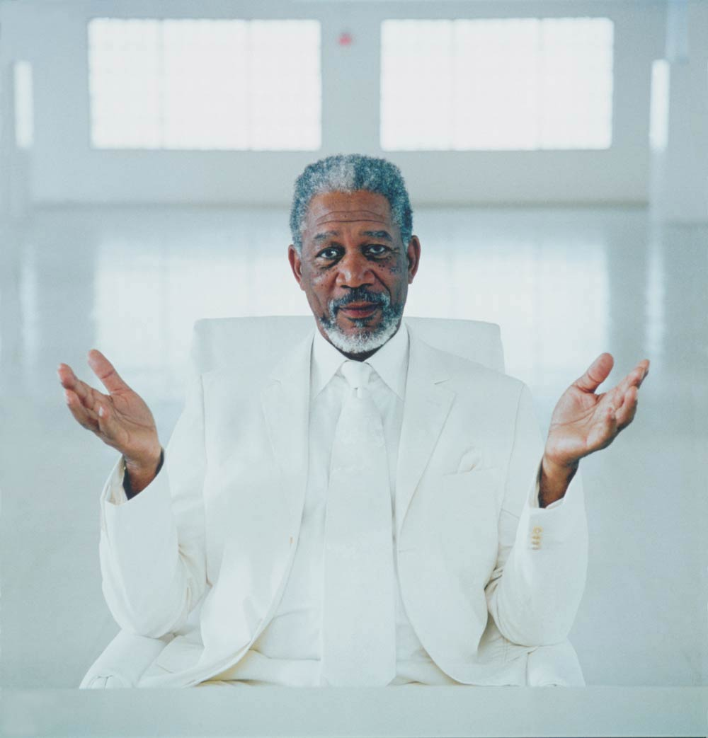 <strong>Morgan Freeman, <i>Bruce Almighty</i></strong>                                   He'd already played the president, so God wasn't much of a stretch; Freeman, one of America's most trusted actors, brought his resounding tones to bear on the loopy Jim Carrey comedy. Playing God must have its perks: Unlike stars Carrey and Jennifer Aniston, Freeman returned for the sequel <i>Evan Almighty</i>.
