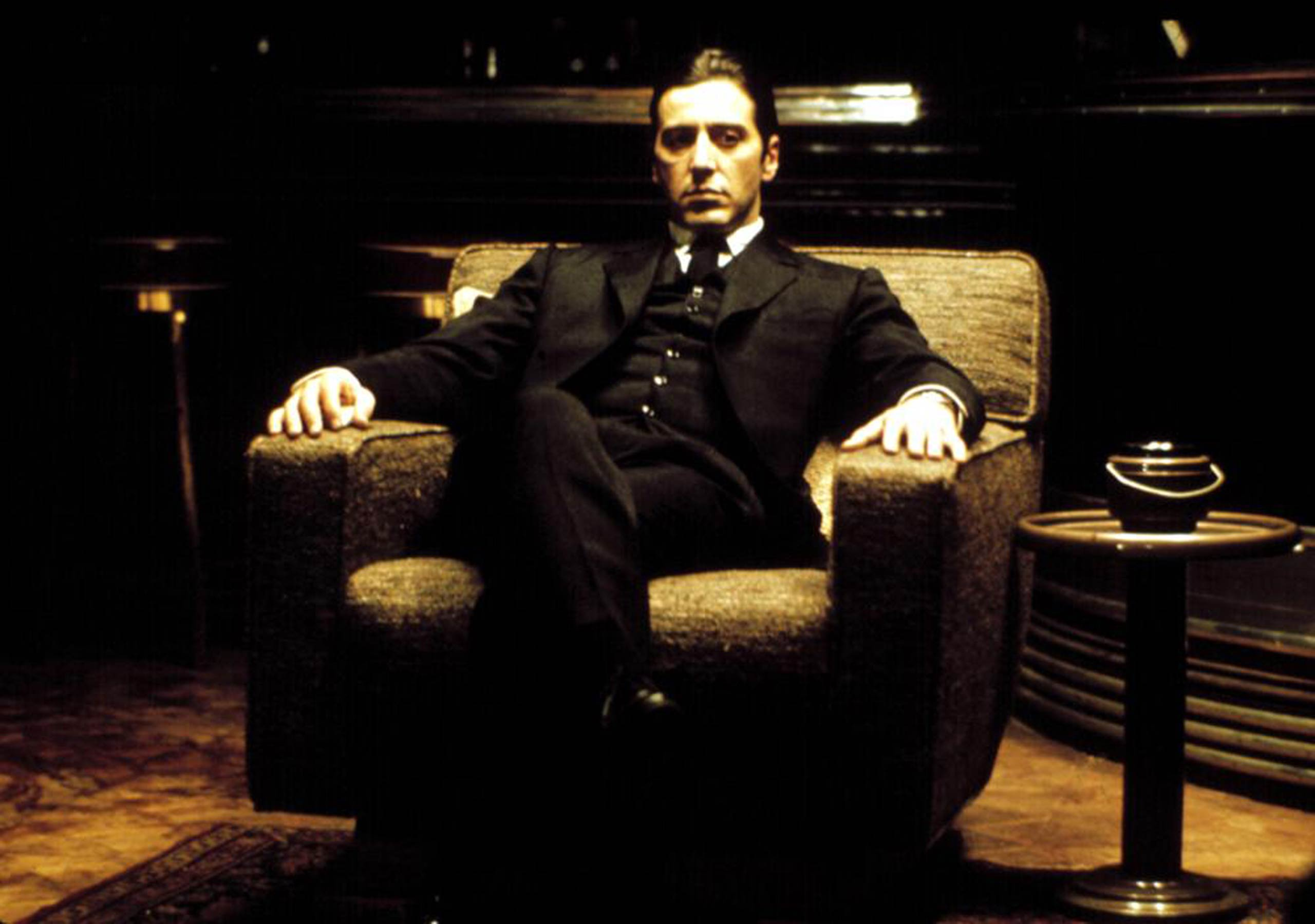 <strong><i>The Godfather: Part II</i></strong> <i>The Godfather Part II</i> starred Al Pacino as mobster Michael Corleone and Robert De Niro as his father, Vito, in the 1974 Oscar-winning sequel to <i>The Godfather<i>.