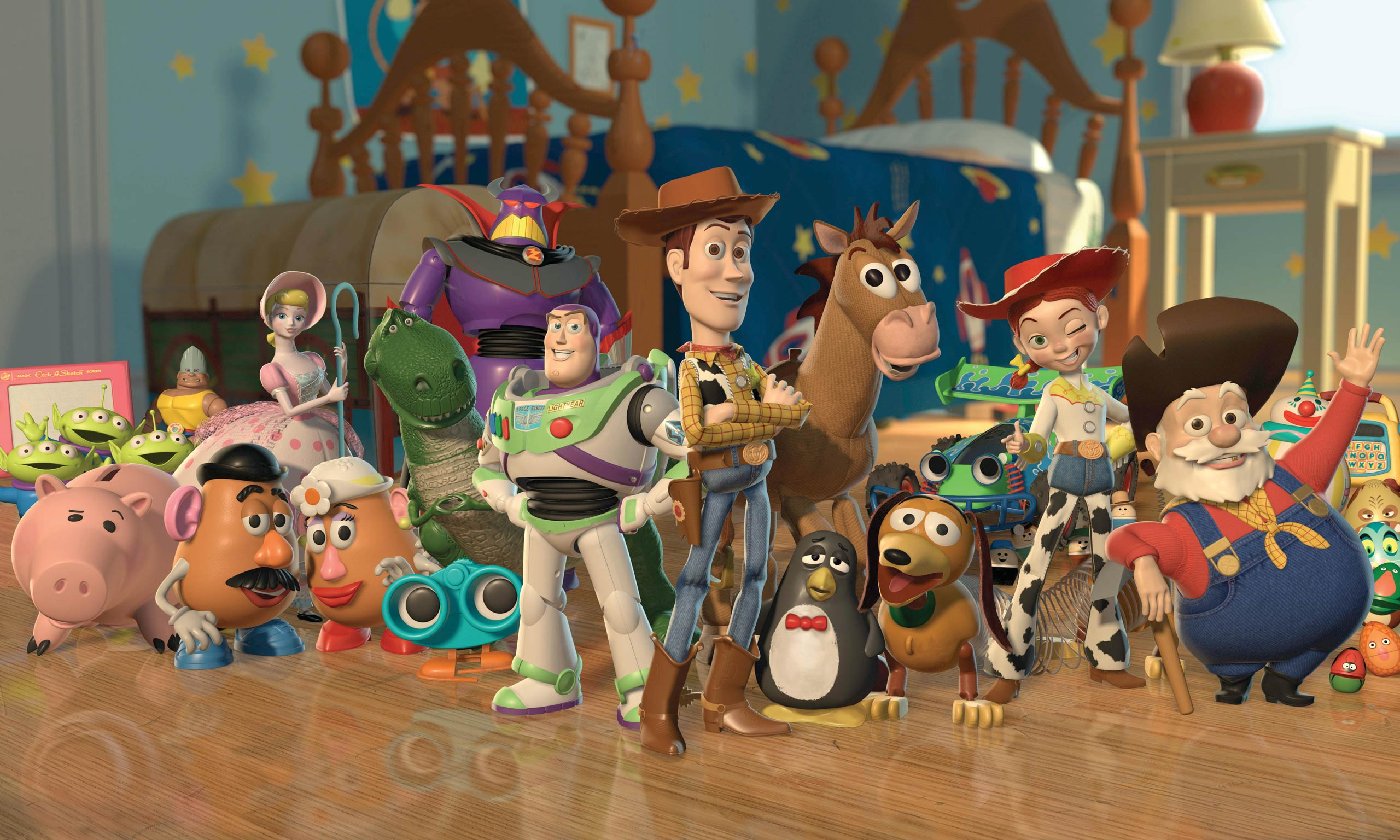 <strong><i>Toy Story 2</i></strong> In Pixar's 1999 follow-up to <i>Toy Story</i>, Woody, a cowboy doll voiced by Tom Hanks, is stolen – and his ragtag crew of fellow toy friends vow to get him home safely.