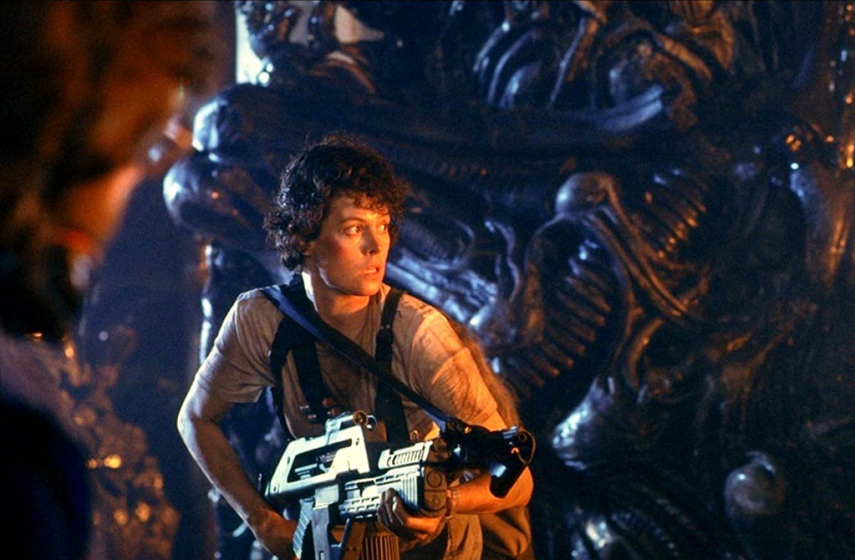 <strong><i>Aliens</i></strong> In James Cameron's sequel to the 1979 film <i>Alien</i>, Sigourney weaver returns as Lt. Ellen Ripley, who takes on even more extraterrestrials — this time, backed by a team of space marines.