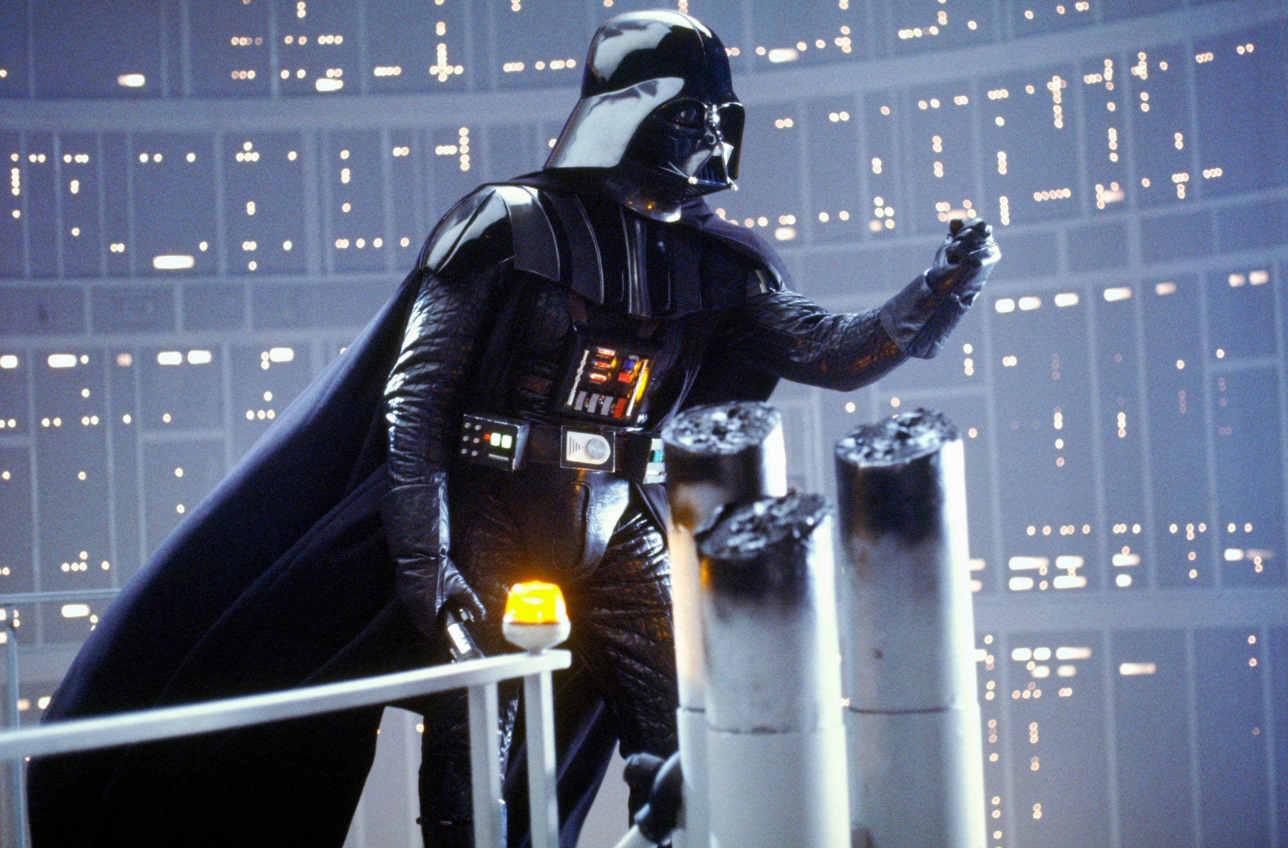 <strong><i>Star Wars: Episode V - The Empire Strikes Back</i></strong> In the second installment of the <i>Star Wars</i> franchise, released in 1980, the Galactic Empire, led by Darth Vader, pursues Luke Skywalker and the rest of the Rebel Alliance.