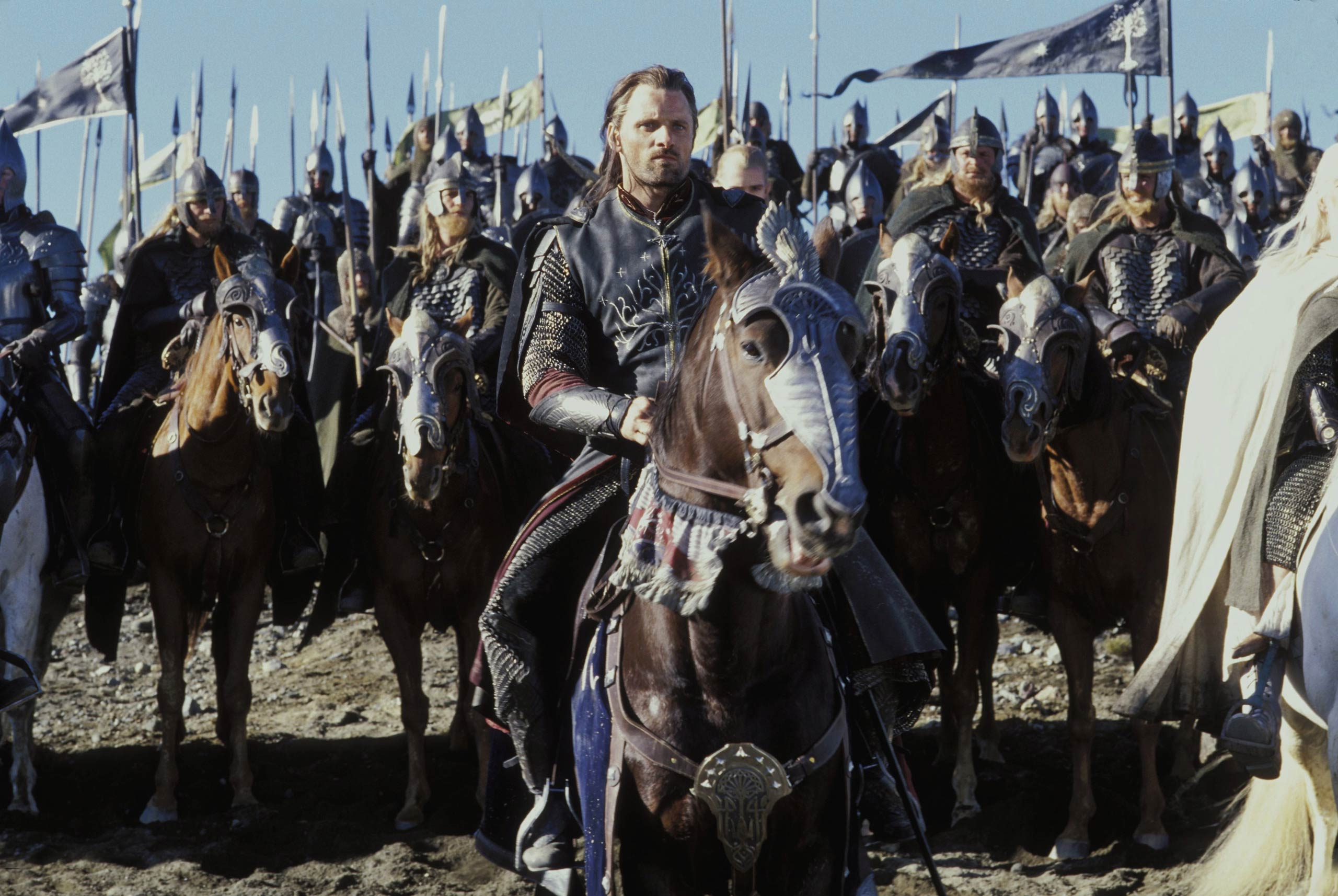 Viggo Mortensen as Aragorn in 'The Lord of the Rings: The Return of the King'