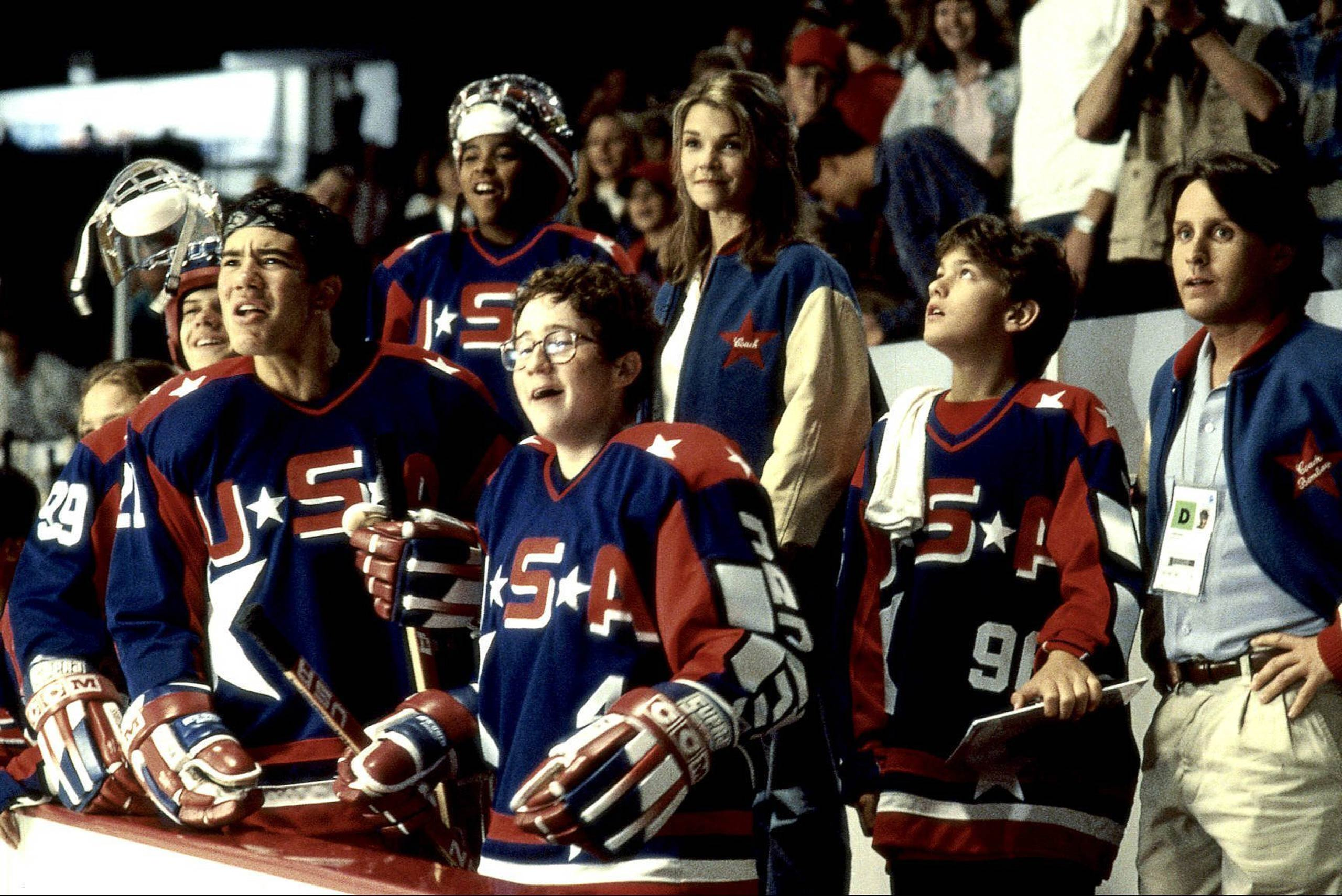 <strong><i>D2: The Mighty Ducks</i></strong> The 1994 sequel to the original <i>Mighty Ducks</i>, the ragtag team of young hockey players – the Ducks – are reunited by Coach Gordon Bombay (Emilio Estevez.)