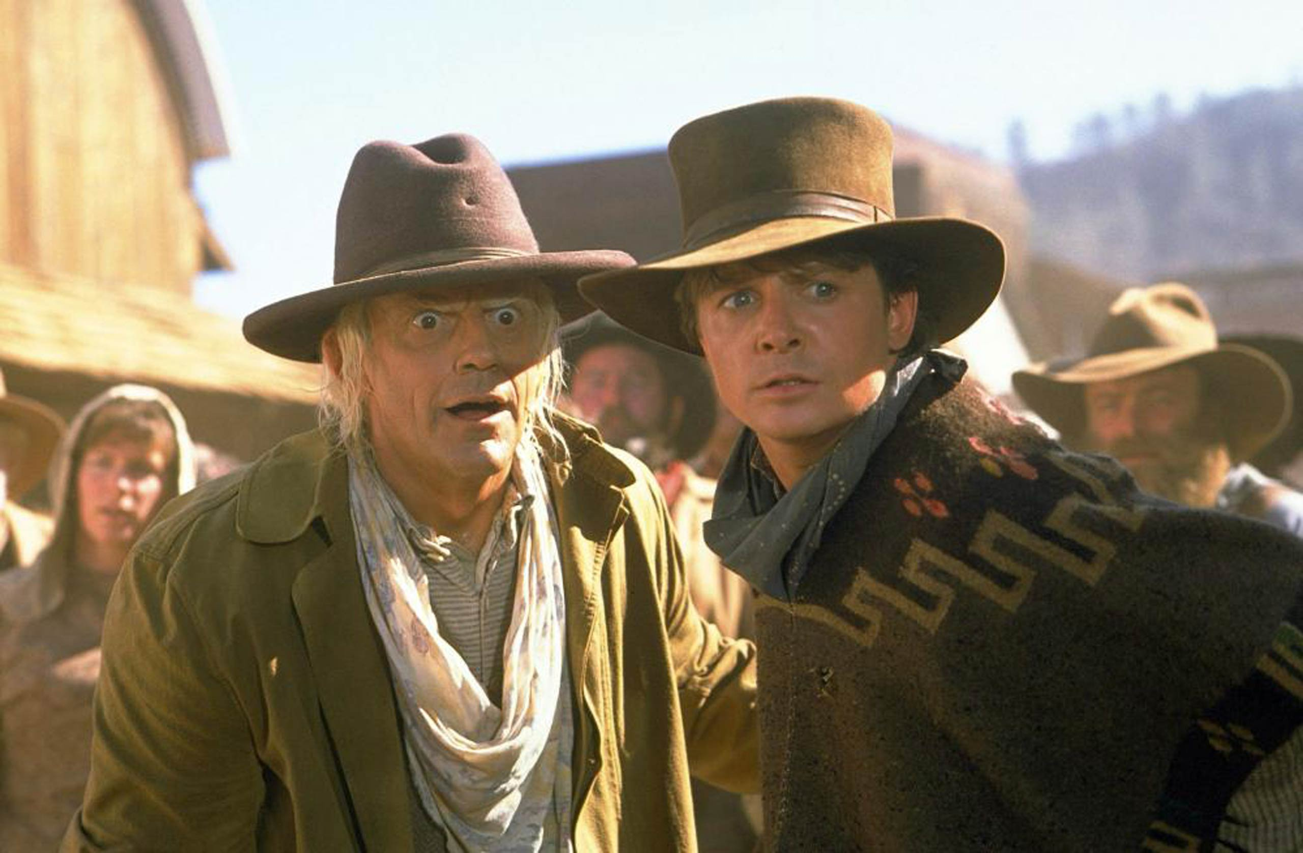<strong><i>Back to the Future Part III</i></strong> In 1990, the final installment of the <i>Back to the Future</i> trilogy brought Marty McFly (Michael J. Fox) back to the big screen for one last time-travelling adventure.