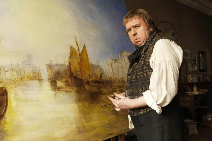 Timothy Spall as J.M.W. Turner in Mr. Turner