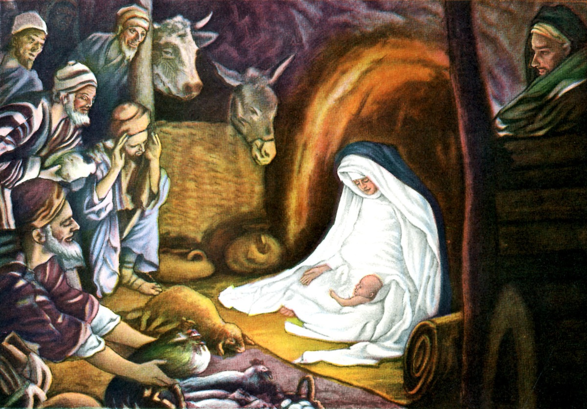 Adoration of the Magi - after illustration by J James Tissot