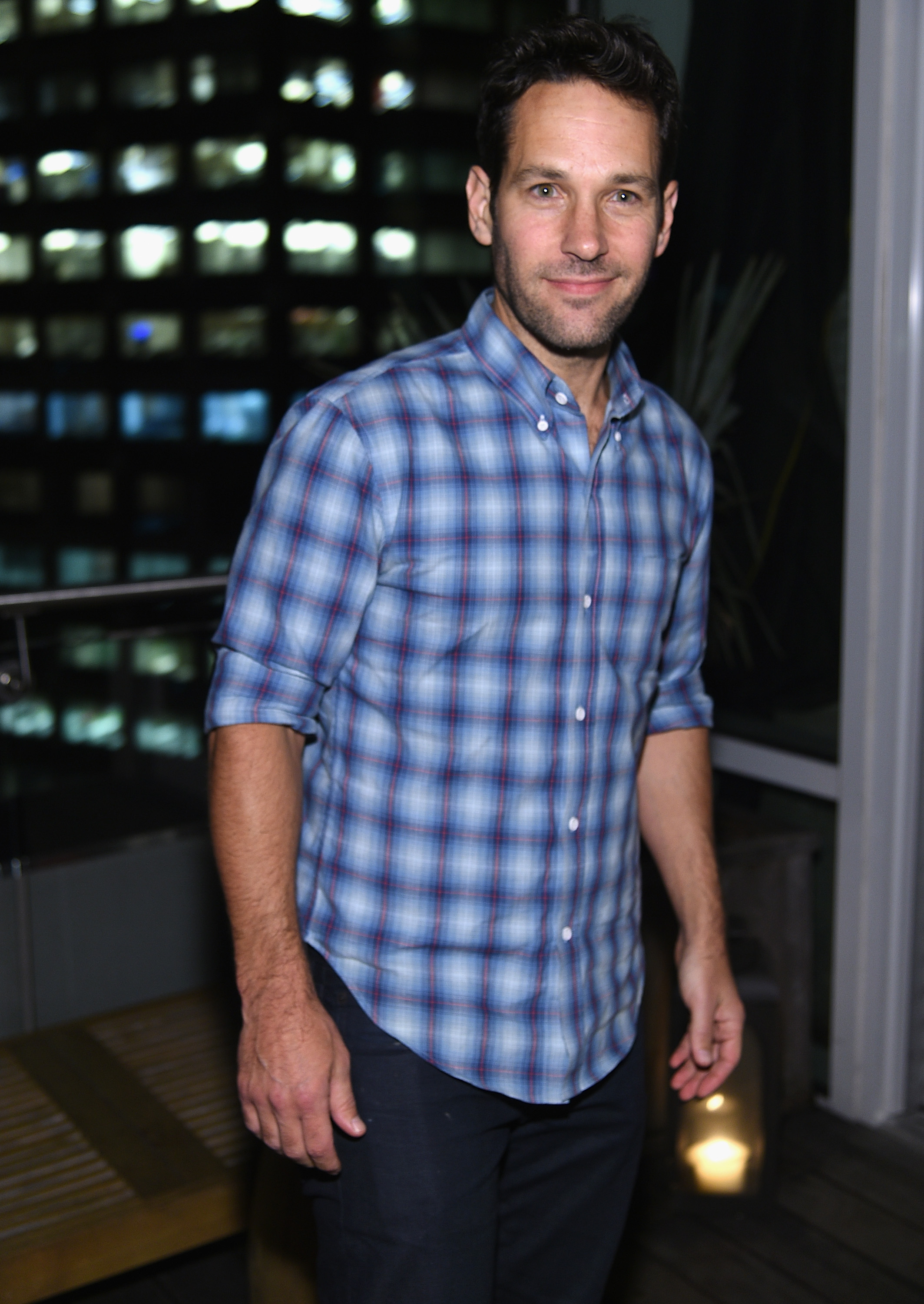 Paul Rudd at Marvel's  Guardians of the Galaxy  screening after party in New York City on Jul. 29, 2014.