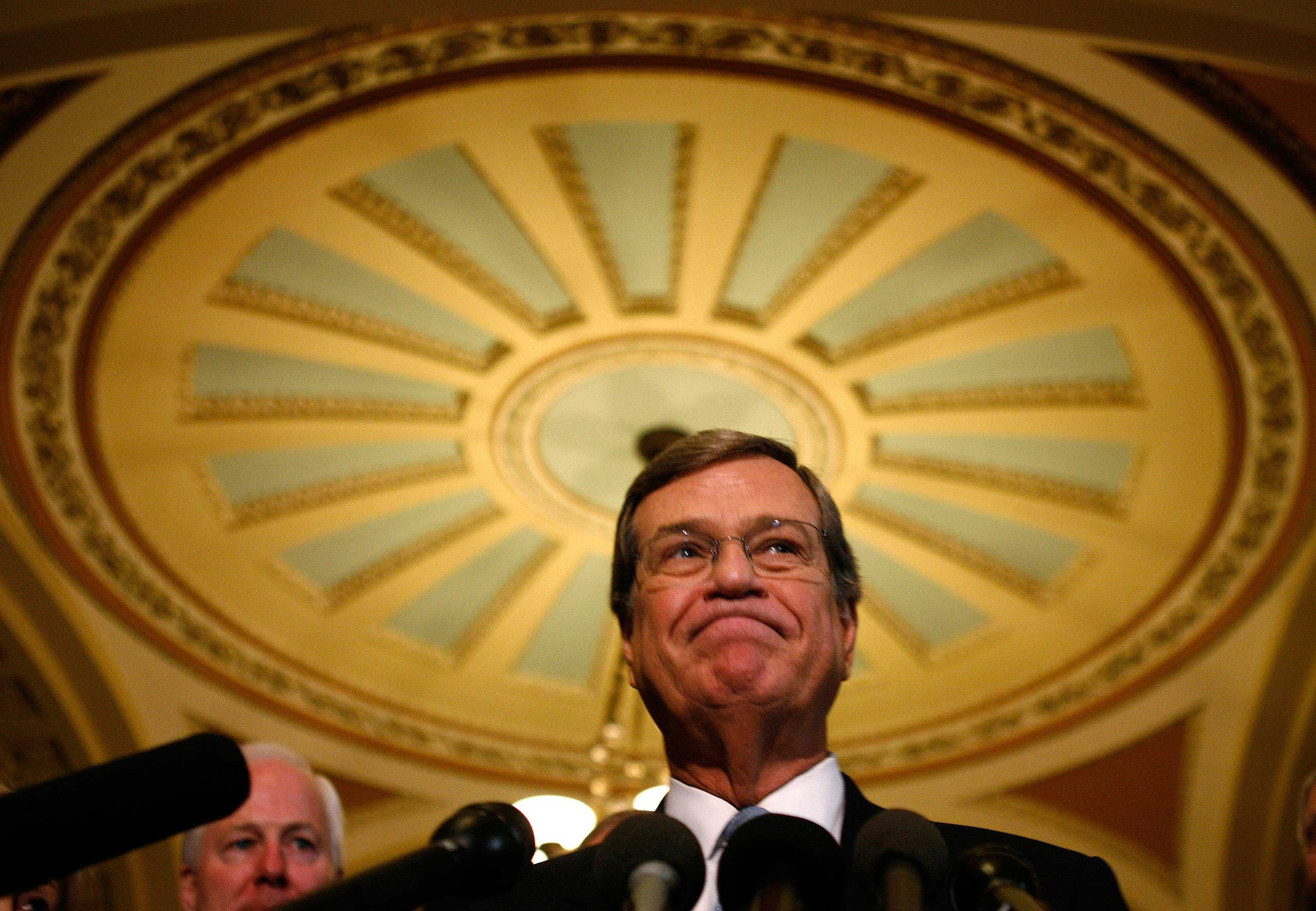 Mississippi Sen. Trent Lott resigned as the Senate majority leader in 2002 after he made comments supporting the segregationist 1948 presidential campaign of Strom Thurmond. But Lott made a comeback five years later when he was elected minority whip.