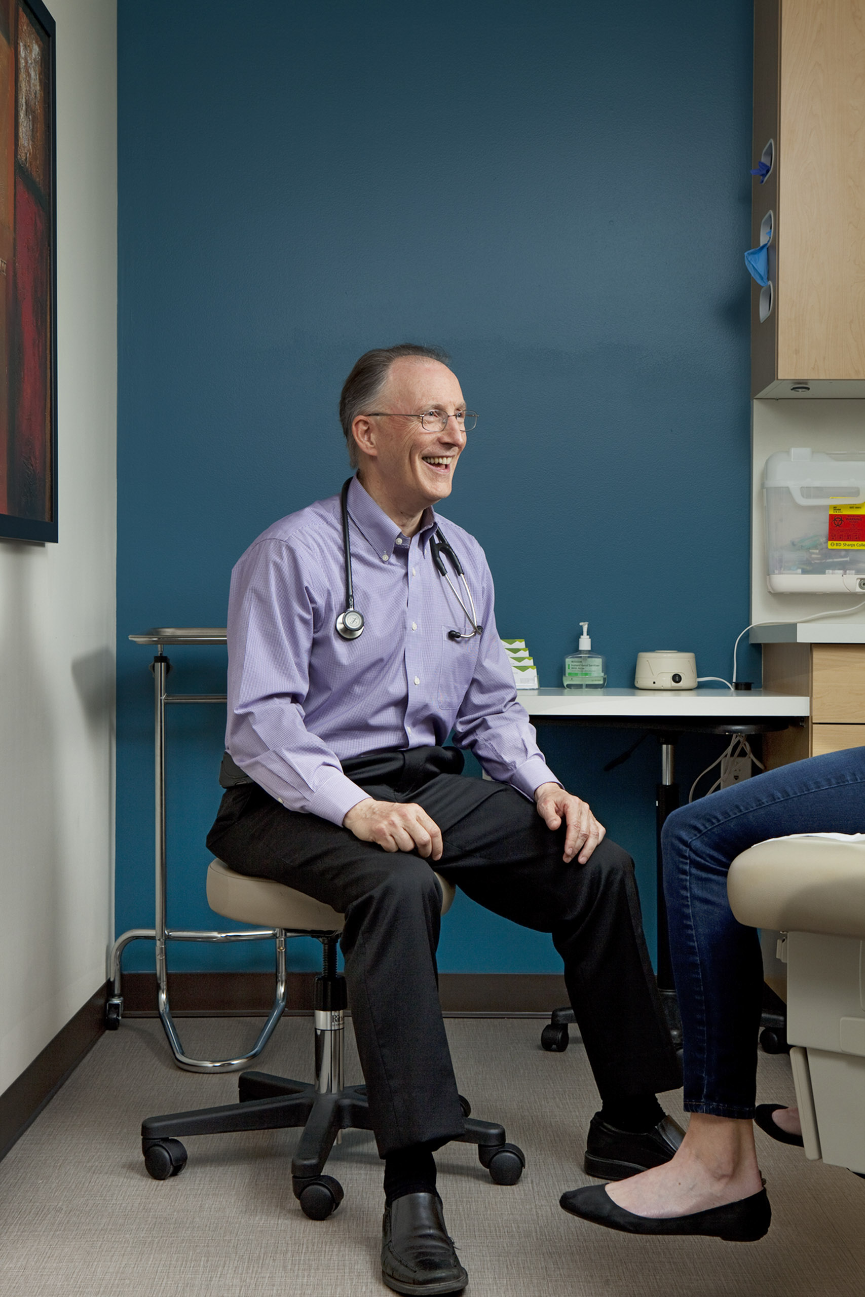 Dr. Garrison Bliss is shaking up how primary-­care medicine works