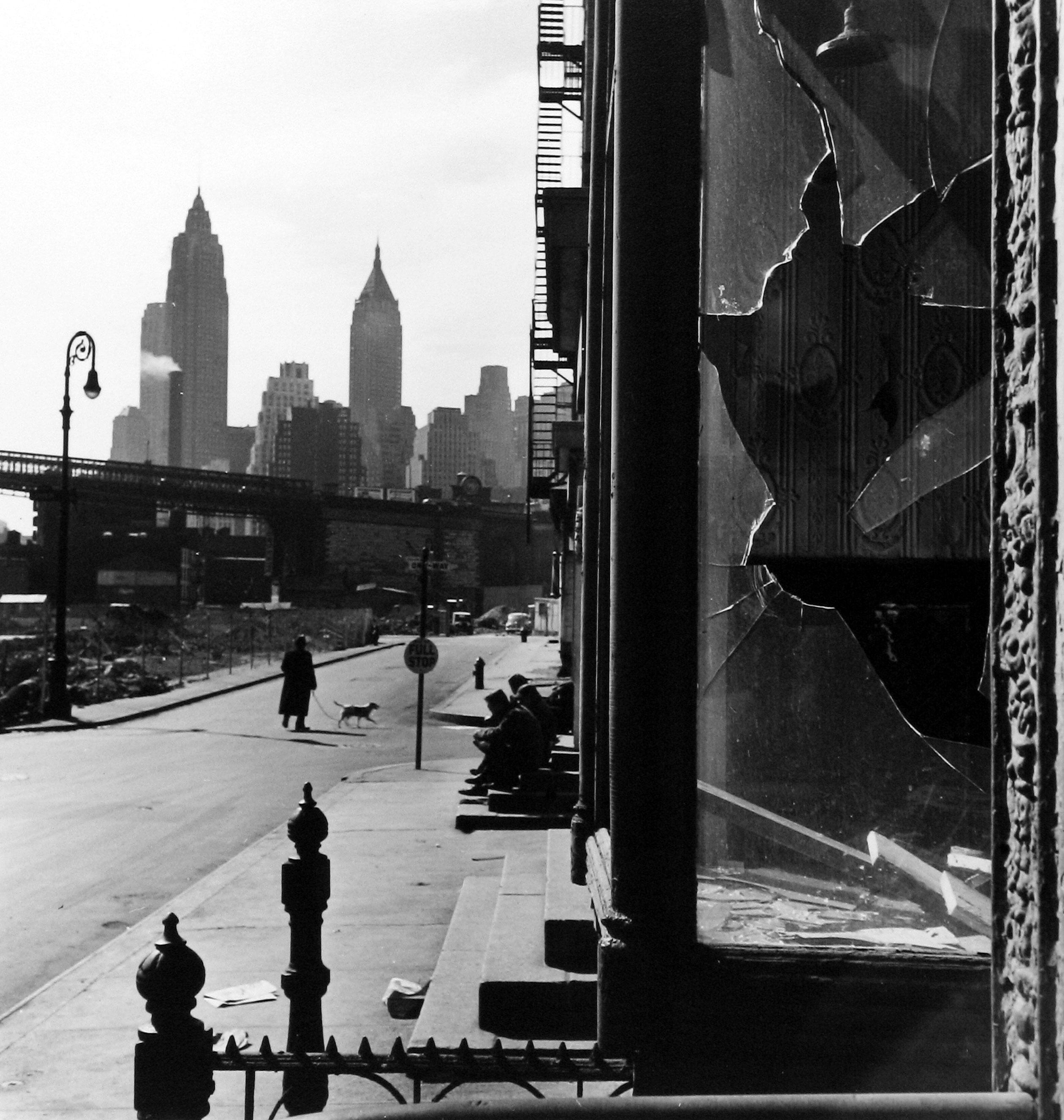 South St., Broken Window, 1947.