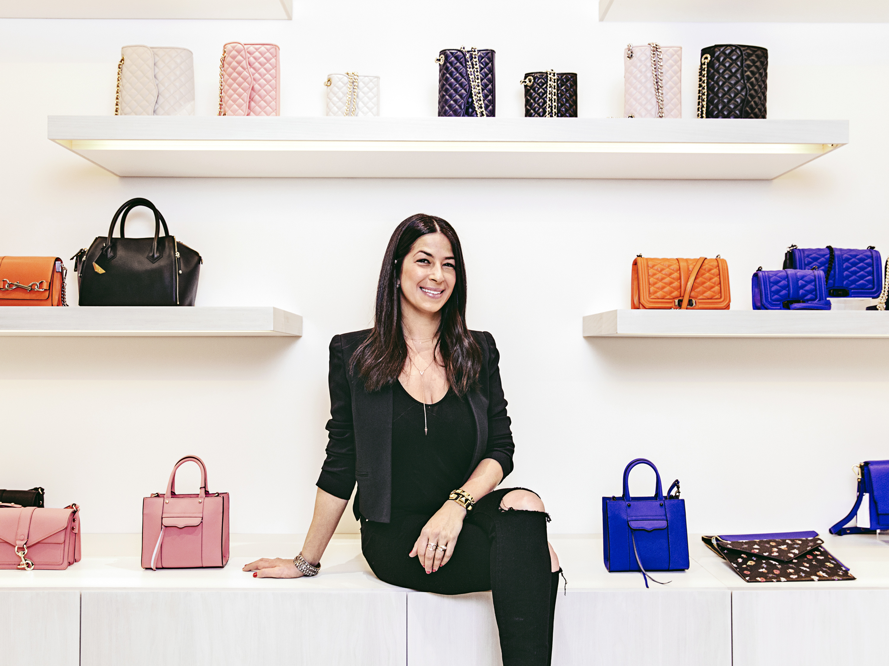 Hot Property: Minkoff and her newest NYC store.