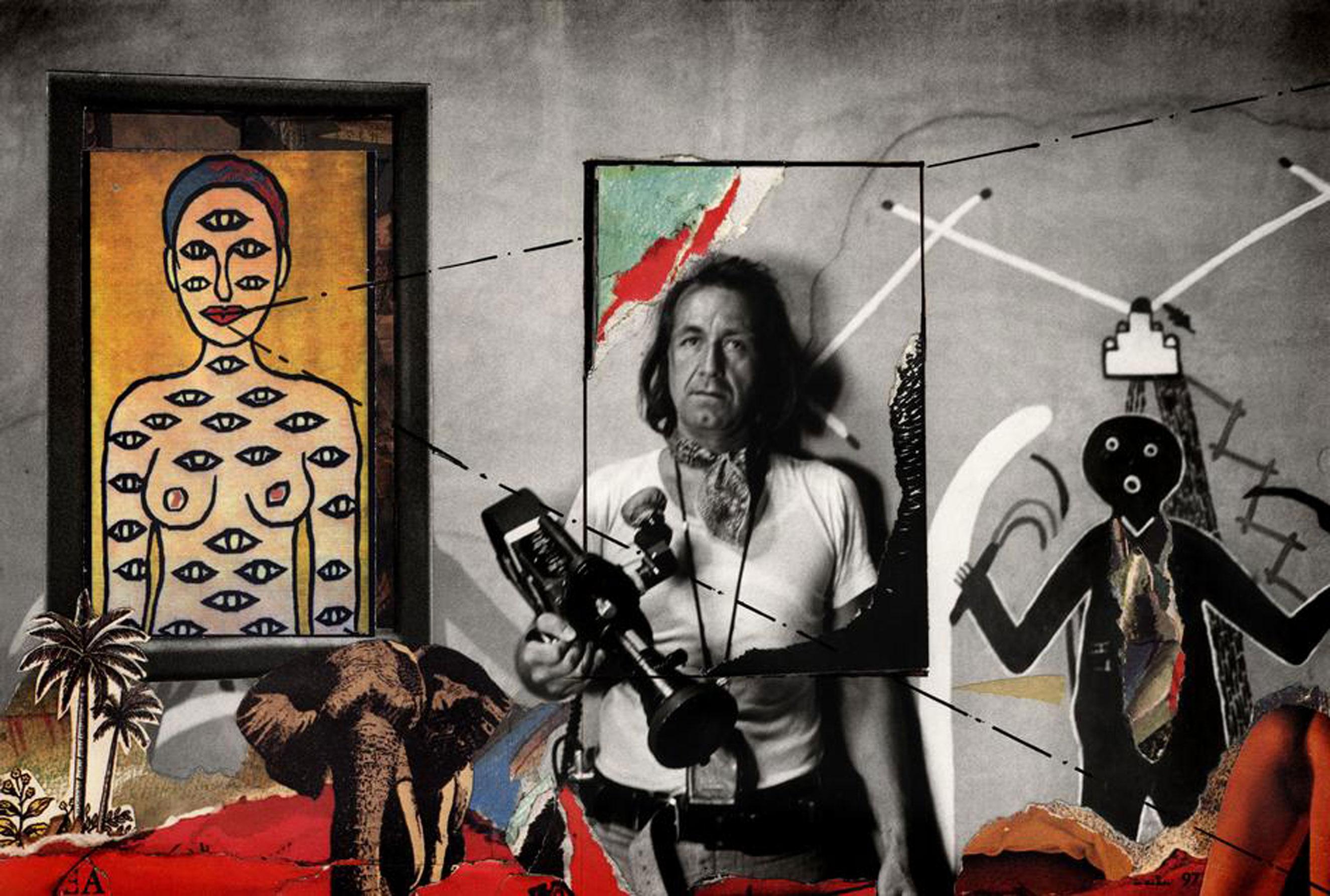 Autoportrait, Coronado, N.M., 1973/83.