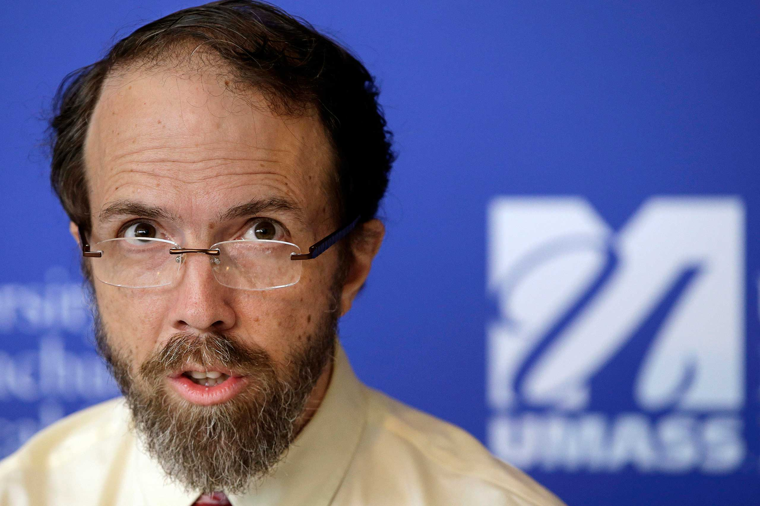 Dr. Rick Sacra, an American doctor who contracted the Ebola virus in Africa in September of 2014.