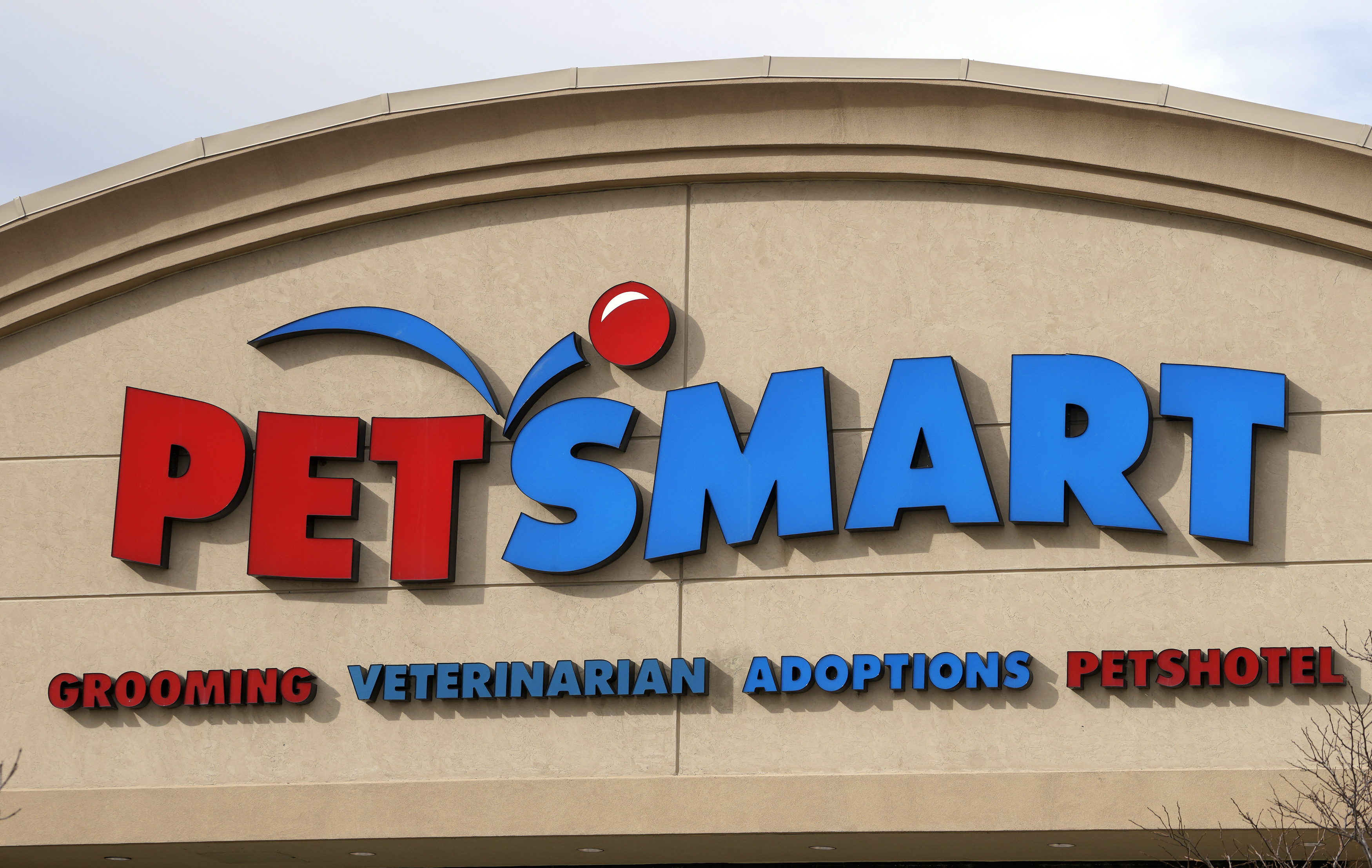 The Petsmart store in Westminster, Colo., is seen Nov. 18, 2014