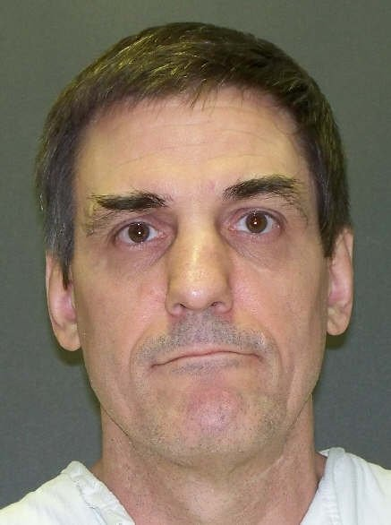 Inmate Scott Panetti is seen in an undated picture release by the Texas Department of Criminal Justice in Huntsville, Texas.