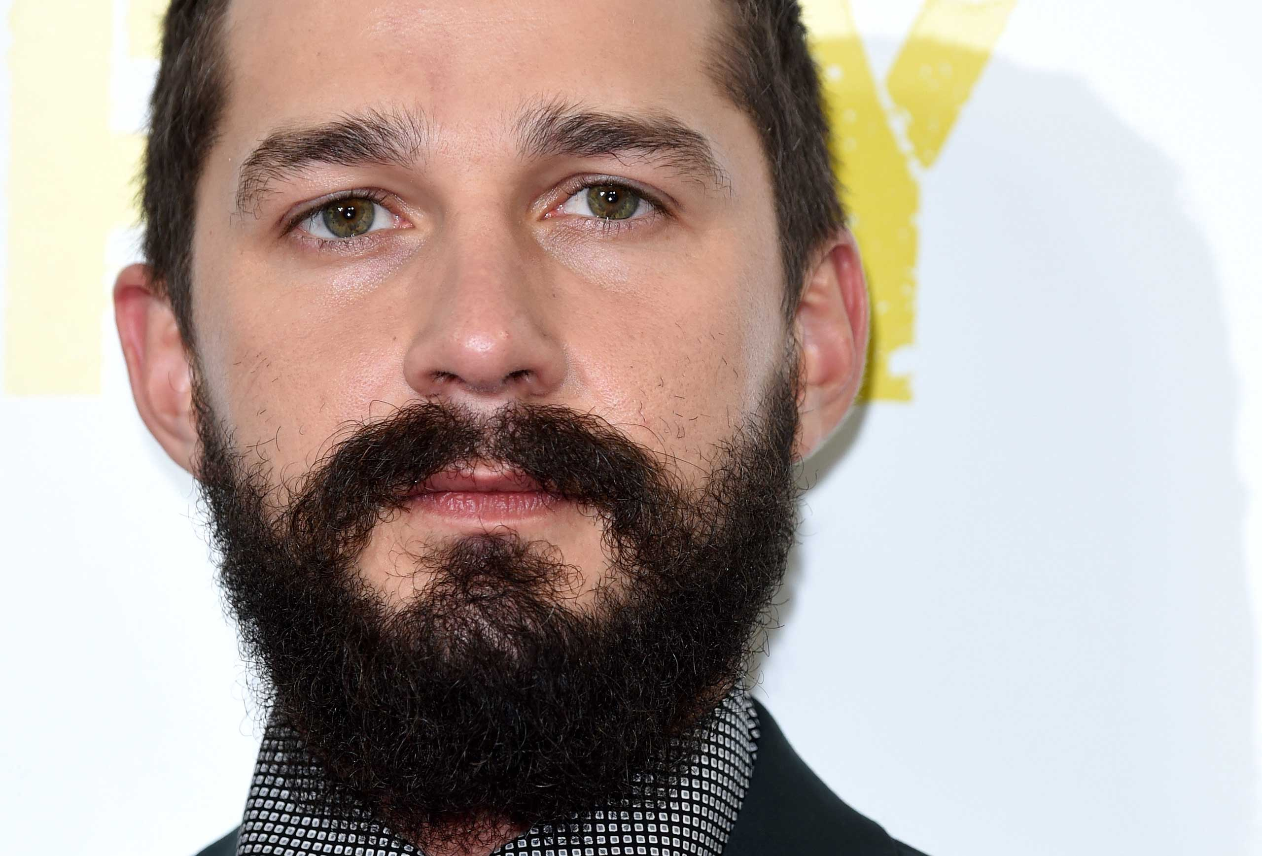 Shia LaBeouf attends a photocall for  Fury  during the 58th BFI London Film Festival at Corinthia Hotel London on Oct. 19, 2014.