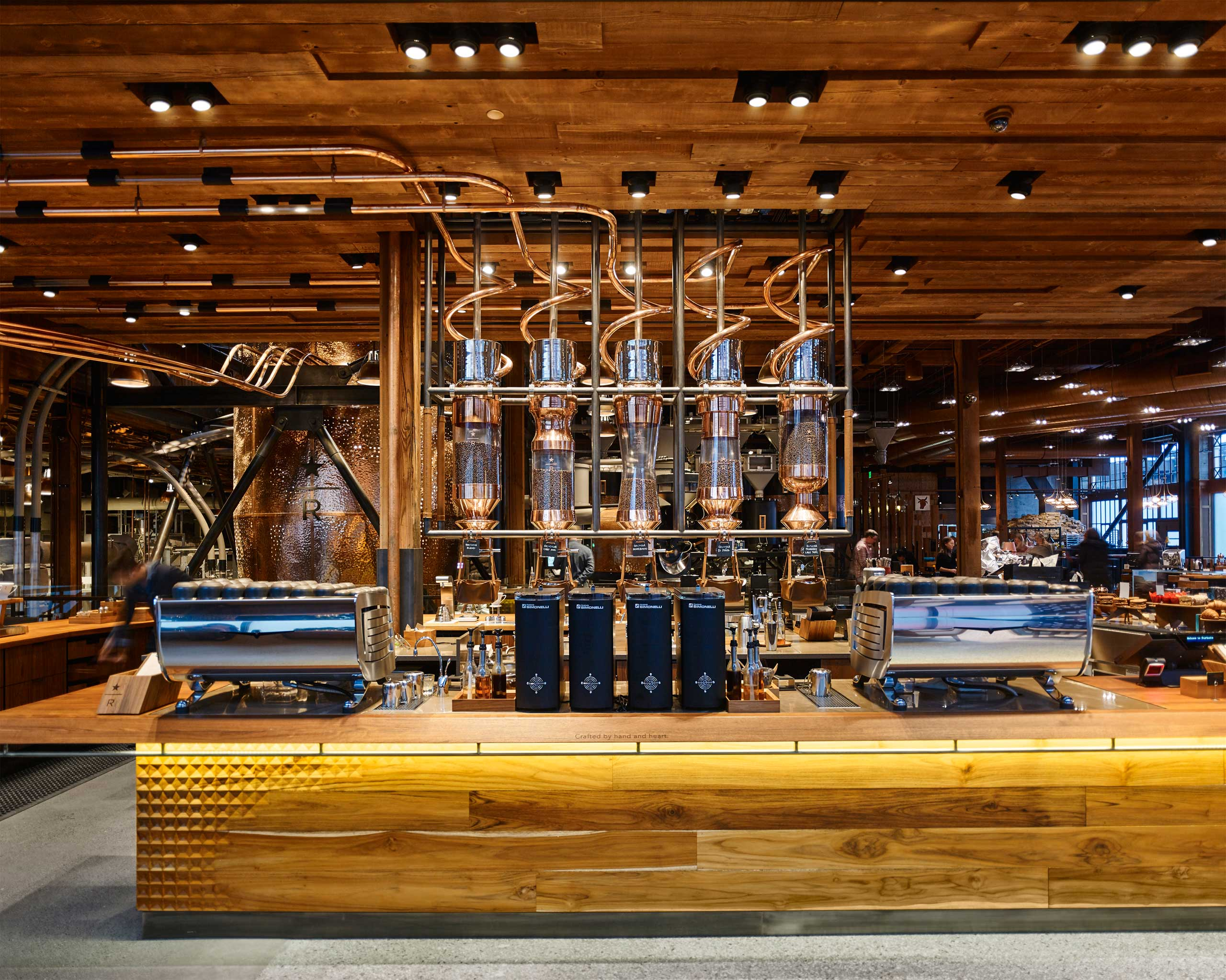 "On Dec. 5, founder Howard Schultz debuted part of his new strategy for Starbucks: his first flagship ""Roastery,"" a 15,000 square foot space that is both a coffee roasting facility, and a consumer retail outlet. The place is to coffee what FAO Schwartz is to toys or Dover Street Market is to fashion—retail theatre."