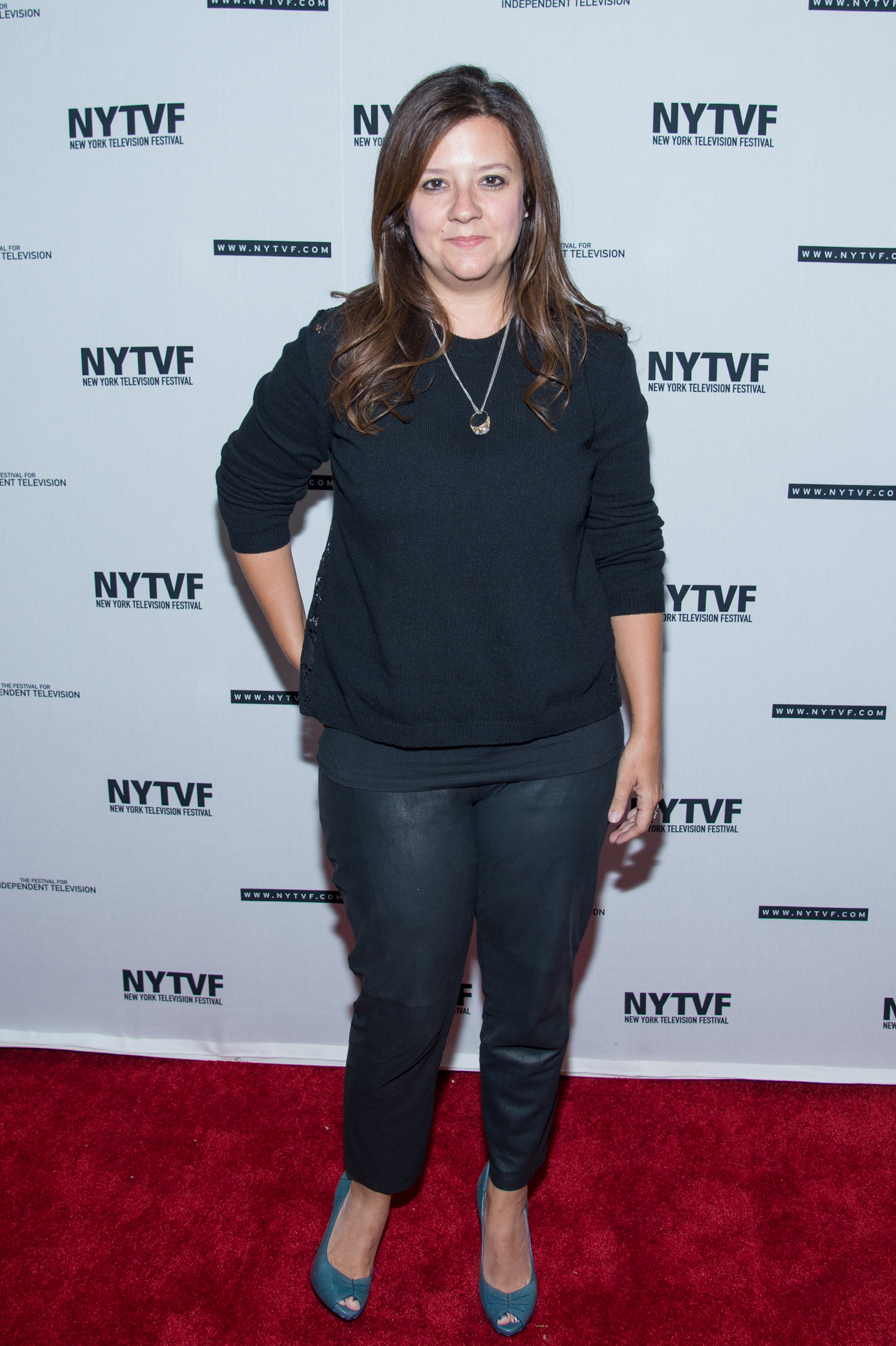 Producer Stephanie Laing  on Oct. 23, 2014 in New York City.