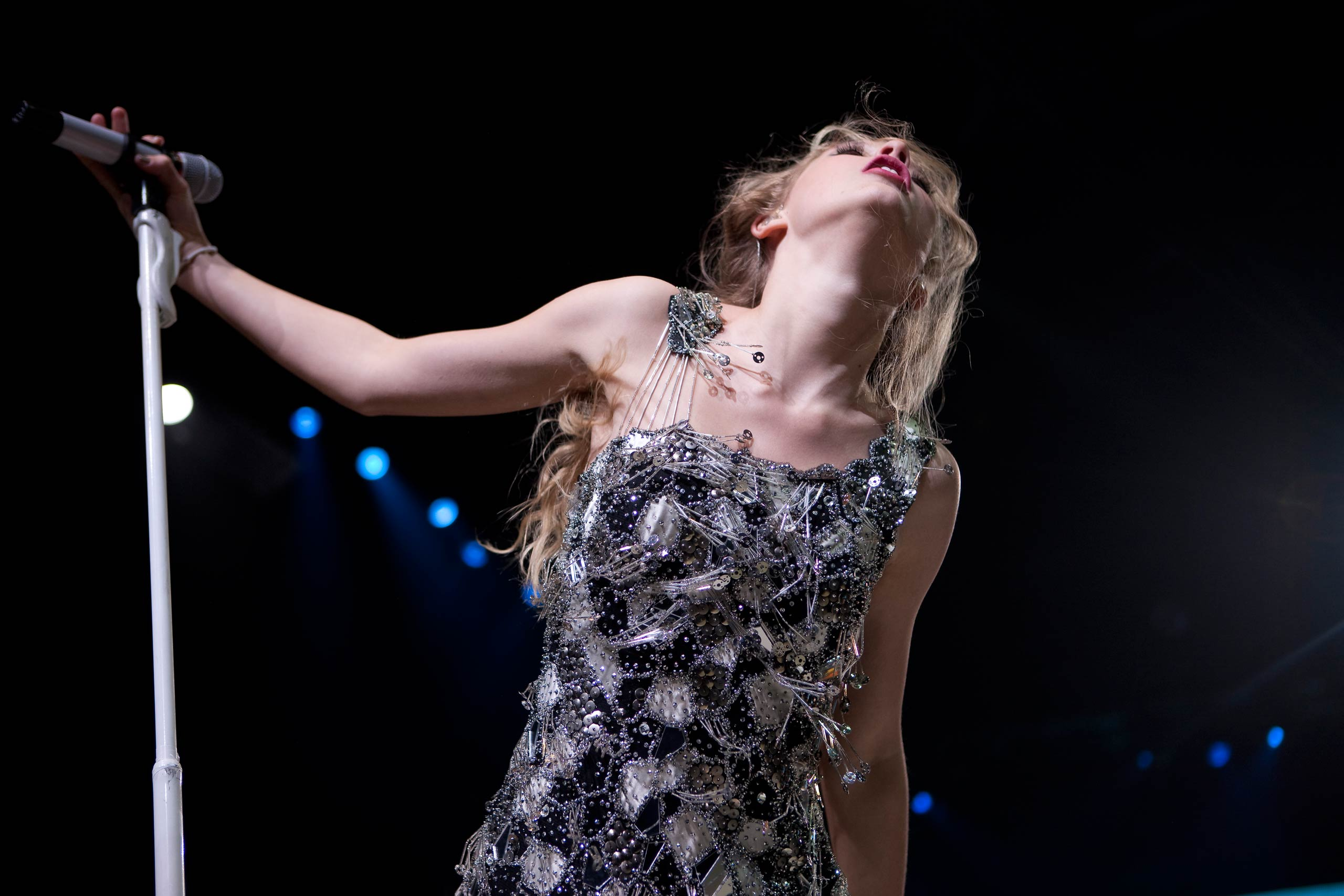 Taylor Swift performs during her Fearless tour in Auburn Hills outside Detroit, Mich. on March 23, 2010.