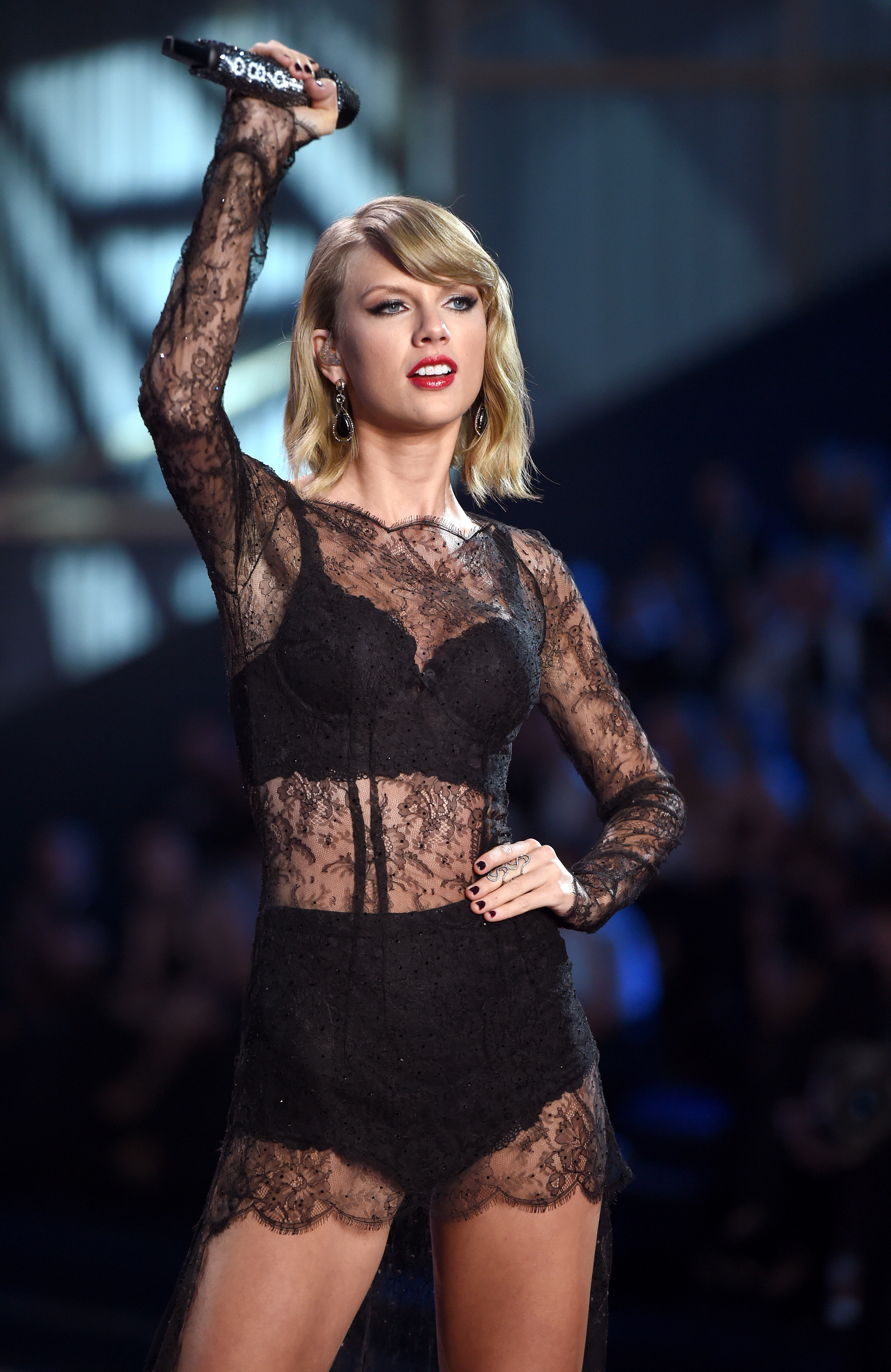 Taylor Swift is nominated for  Record of the Year.