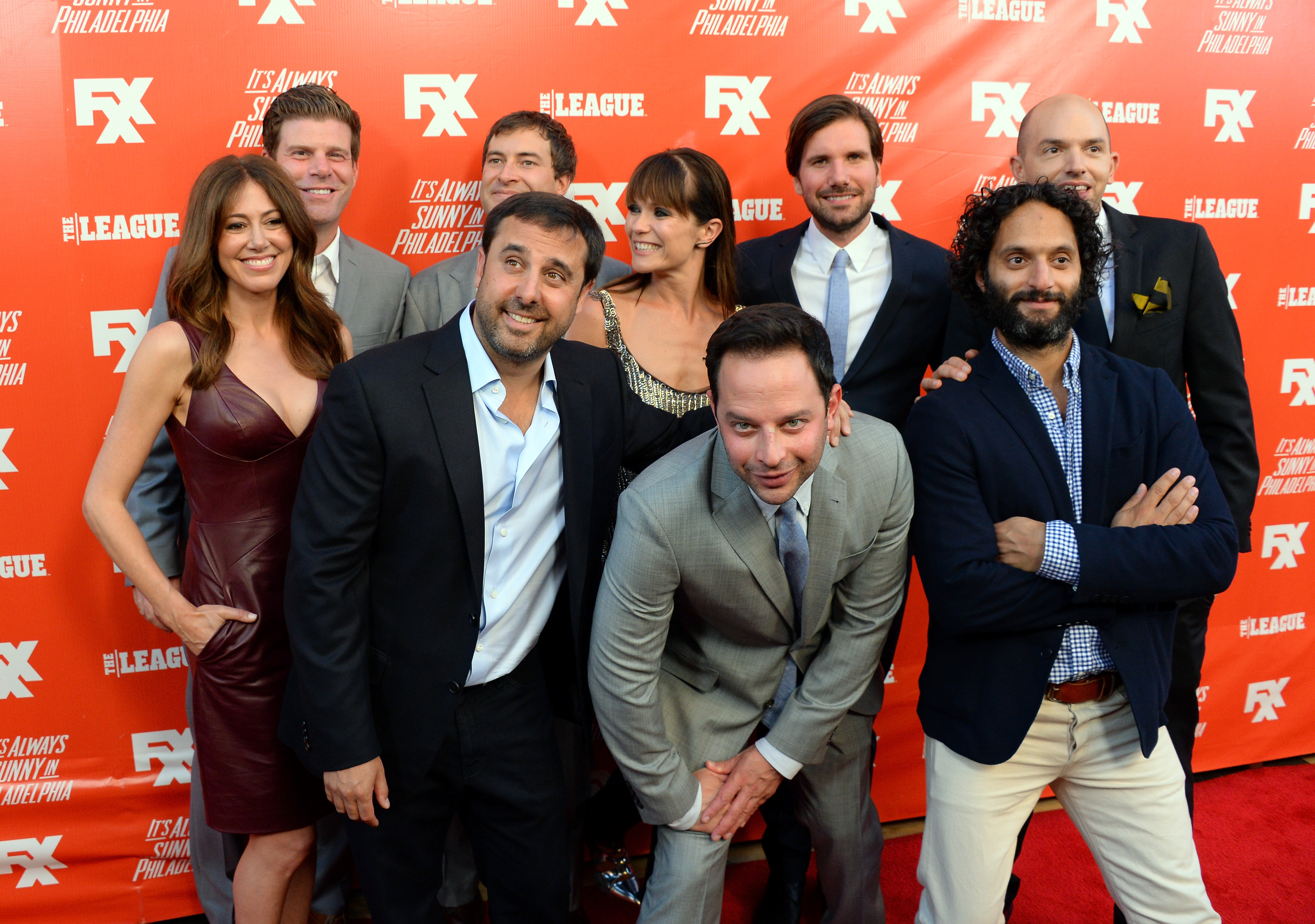 The cast and crew of  The League  attend the premiere and launch party for FXX Network's  It's Always Sunny In Philadelphia  and  The League  at Lure on Sept. 3, 2013 in Hollywood.