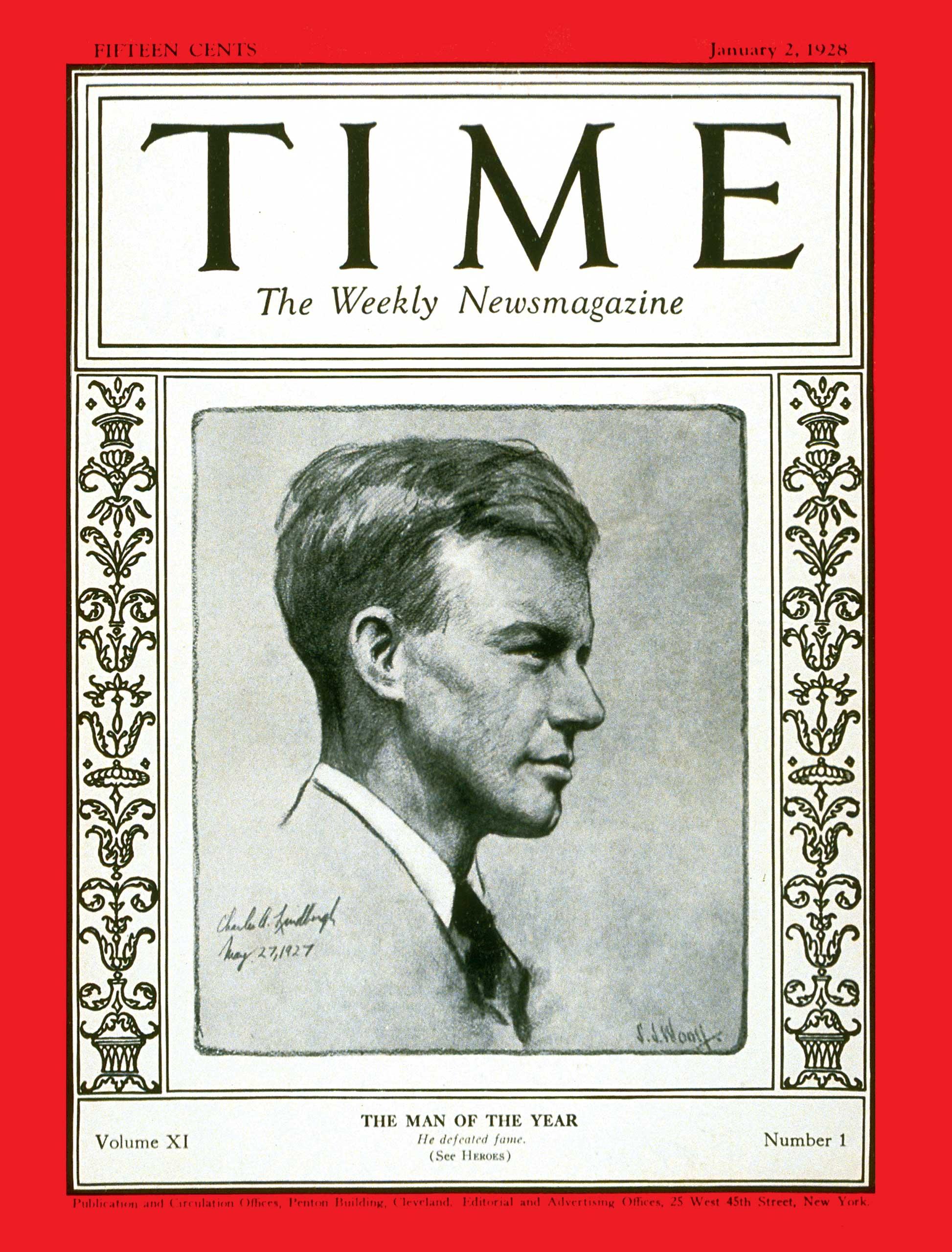 1927: Charles Lindbergh