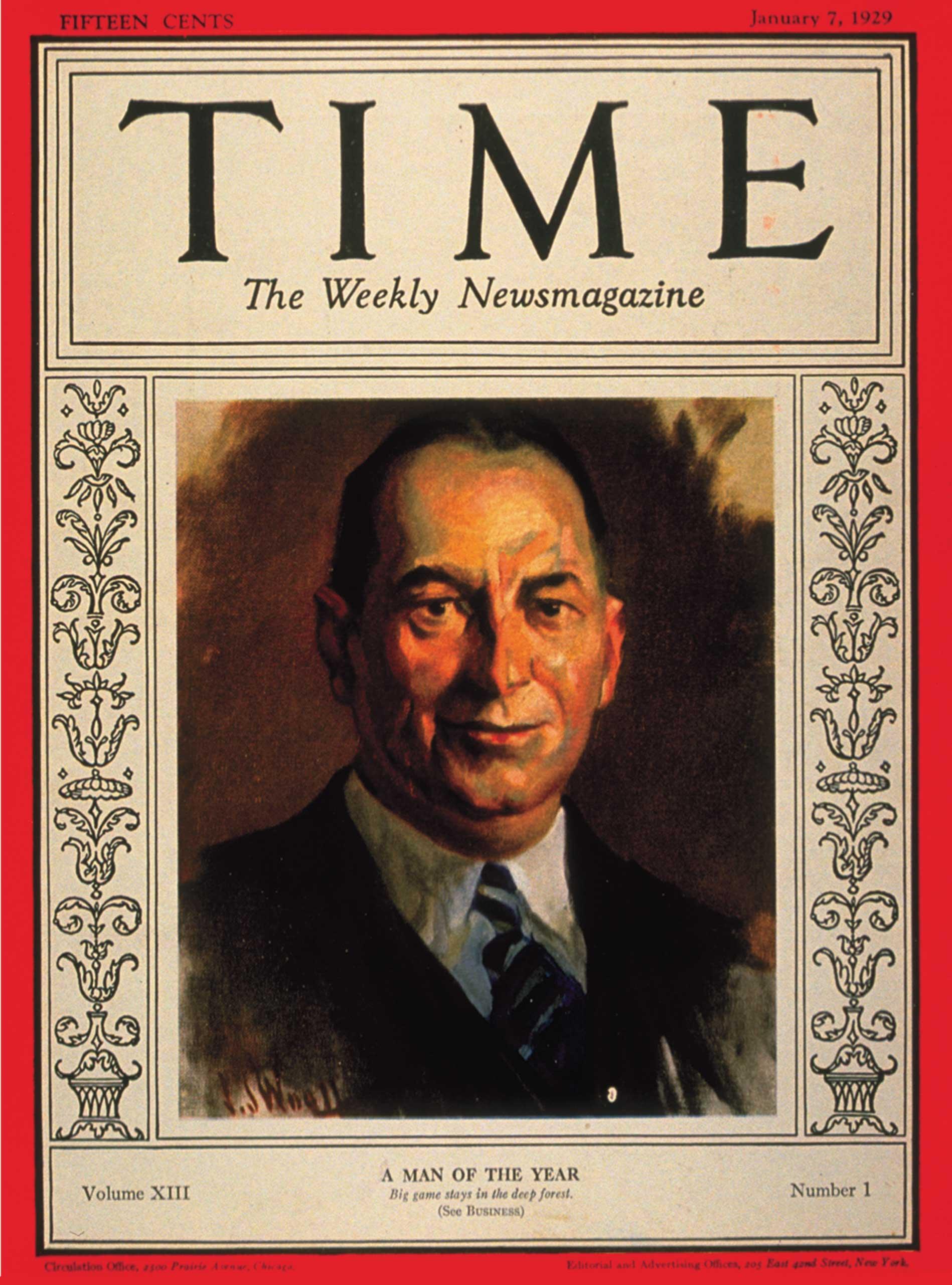 1928: Walter Chrysler