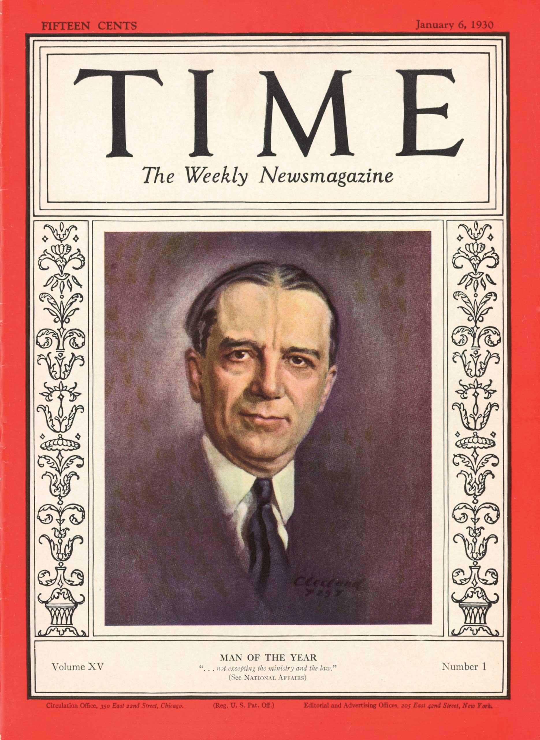 1929: Owen D. Young