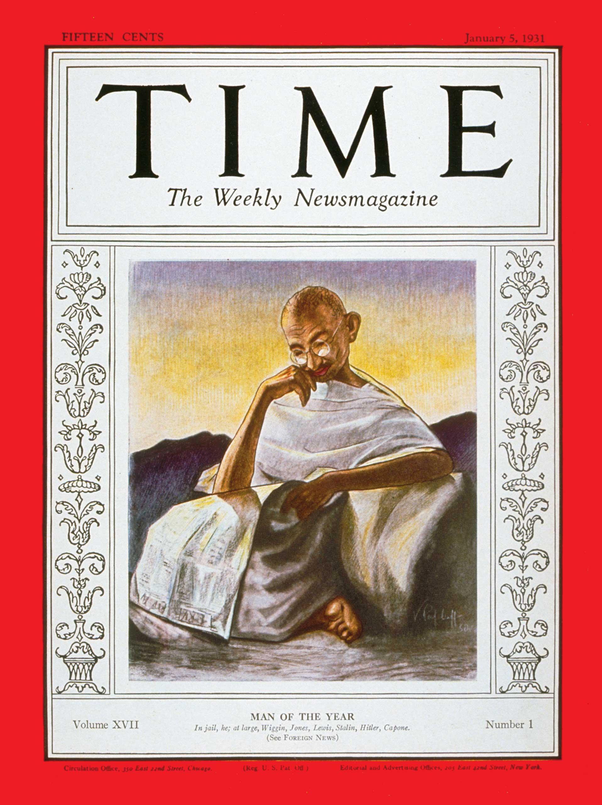 1930: Mahatma Gandhi
