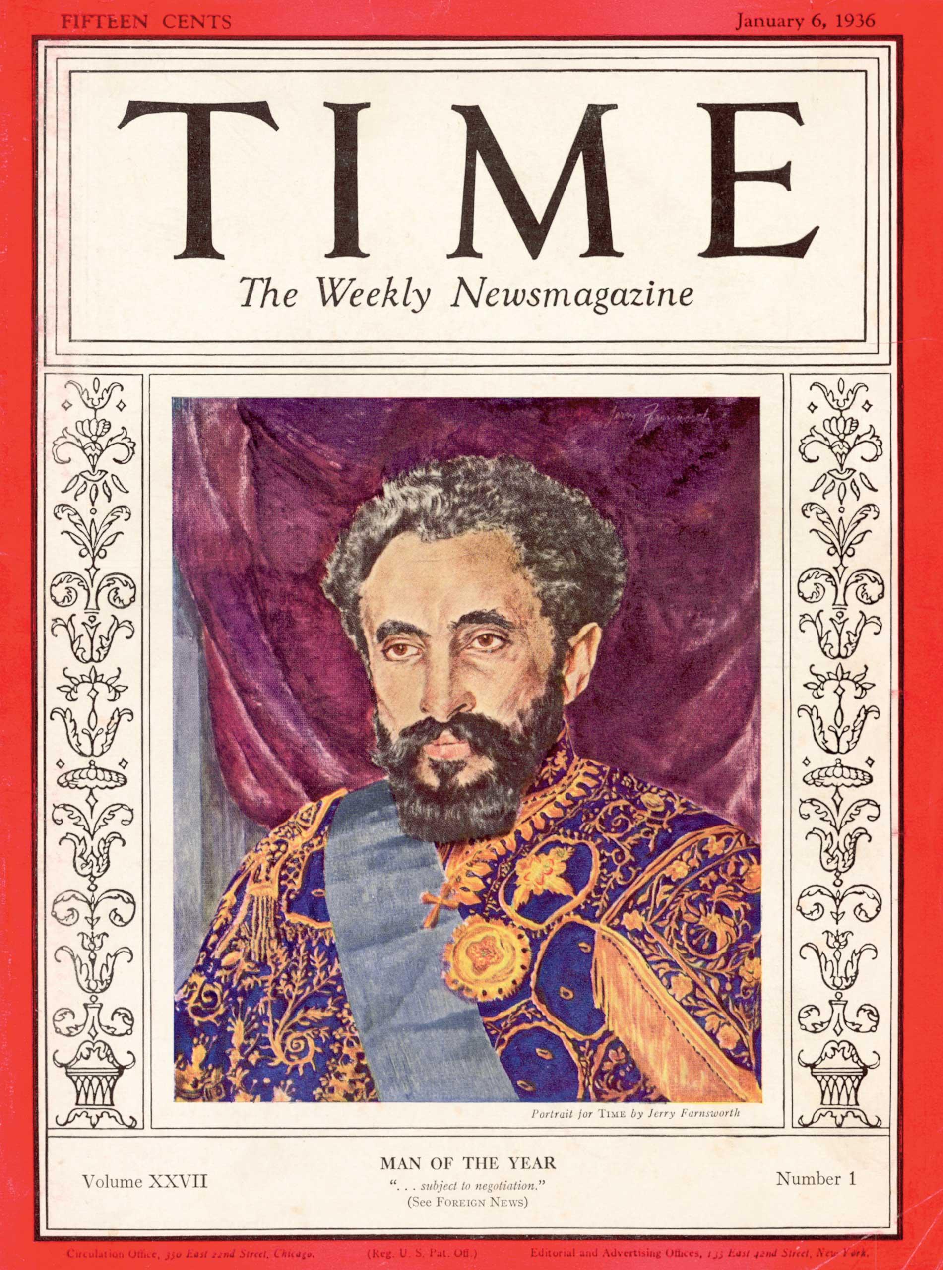 1935: Haile Selassie