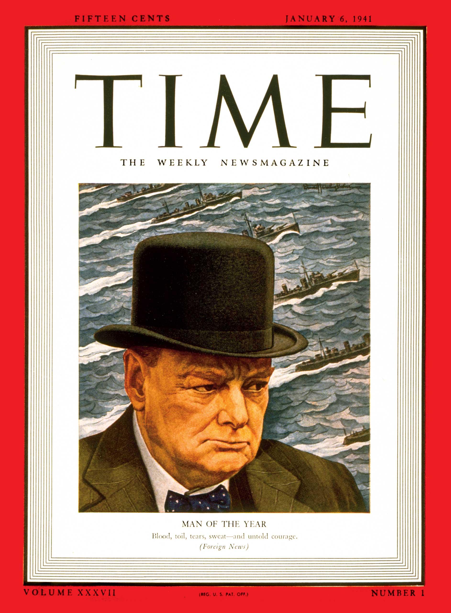 1940: Winston Churchill