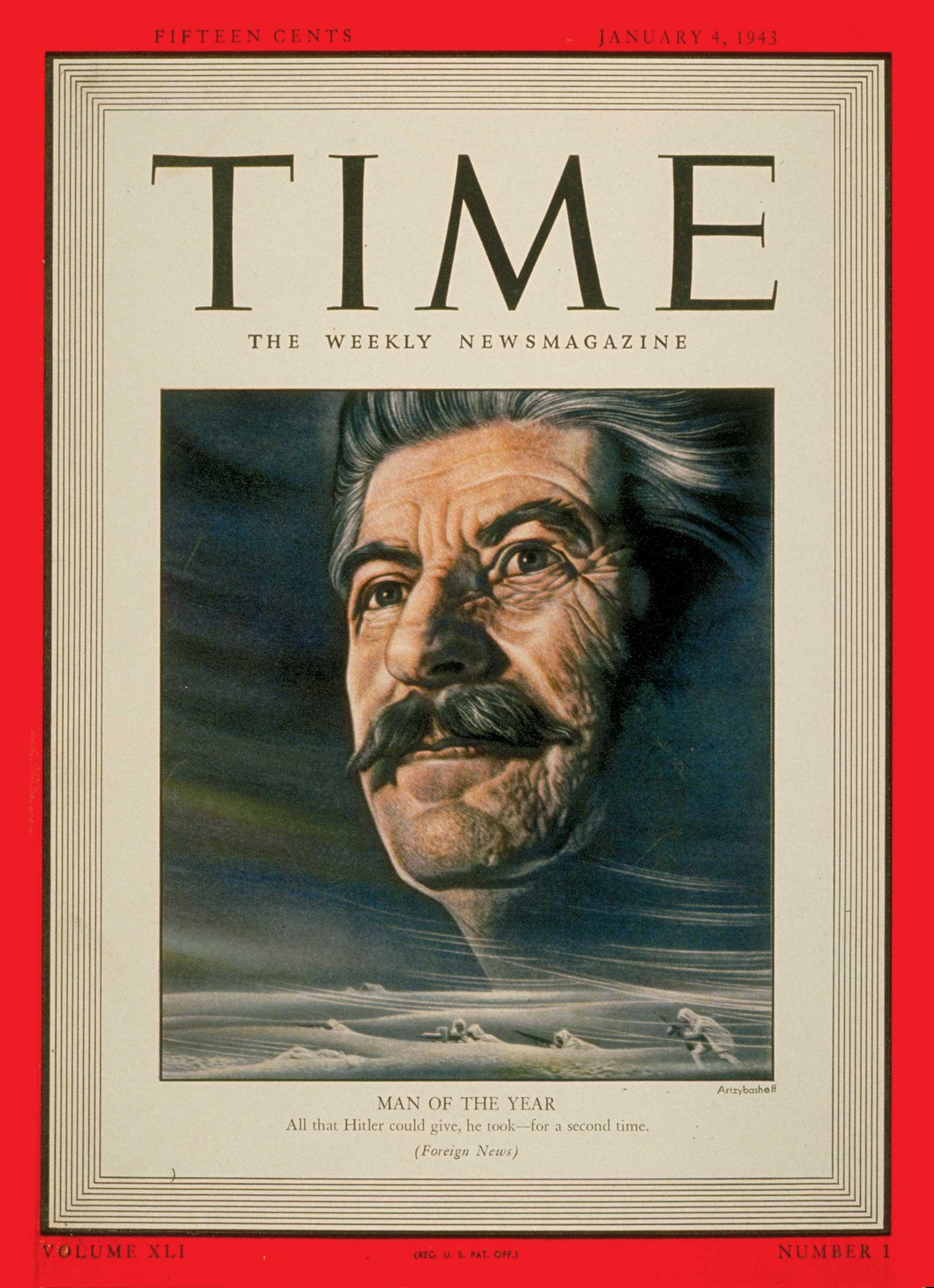 1942: Joseph Stalin