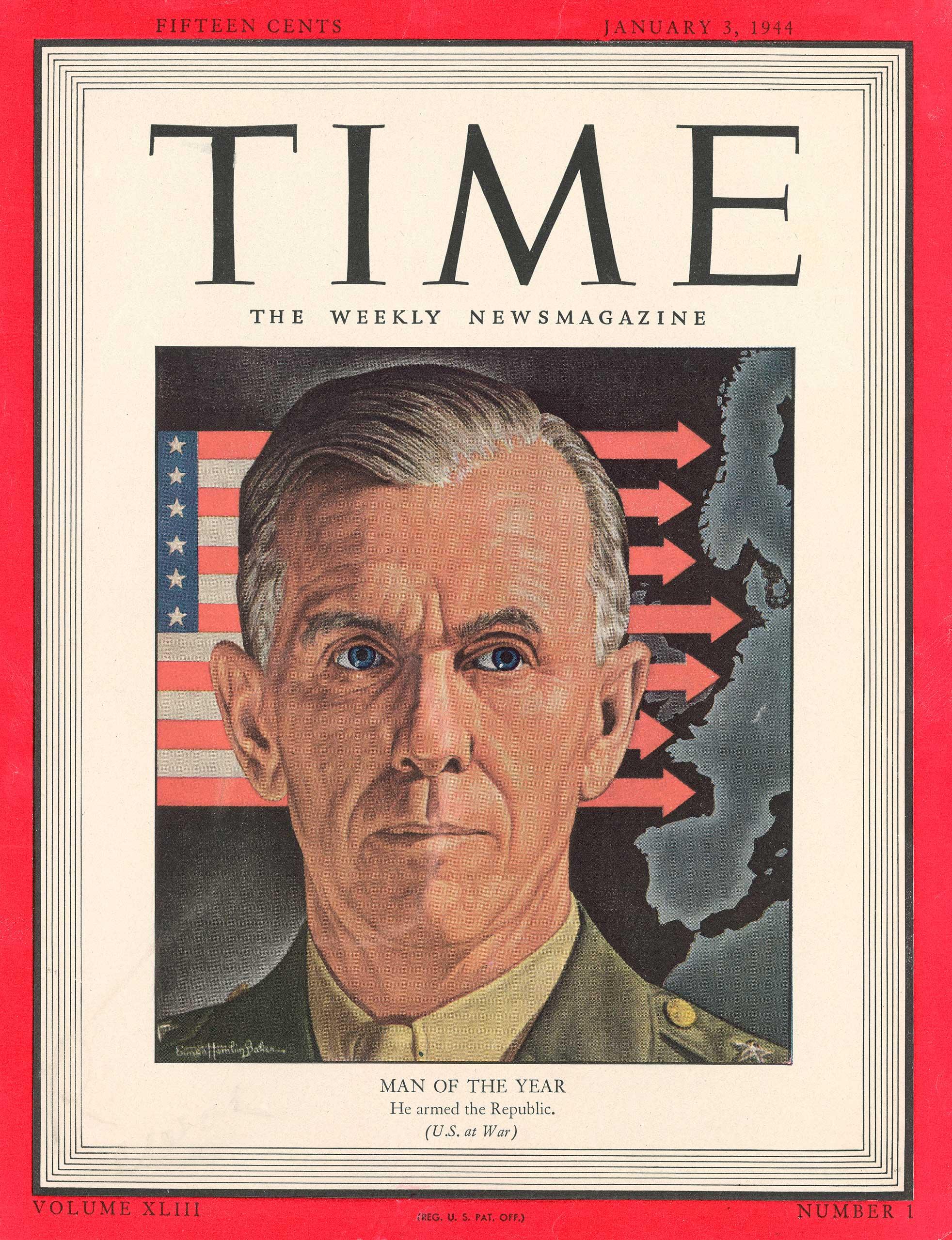 1943: George Marshall