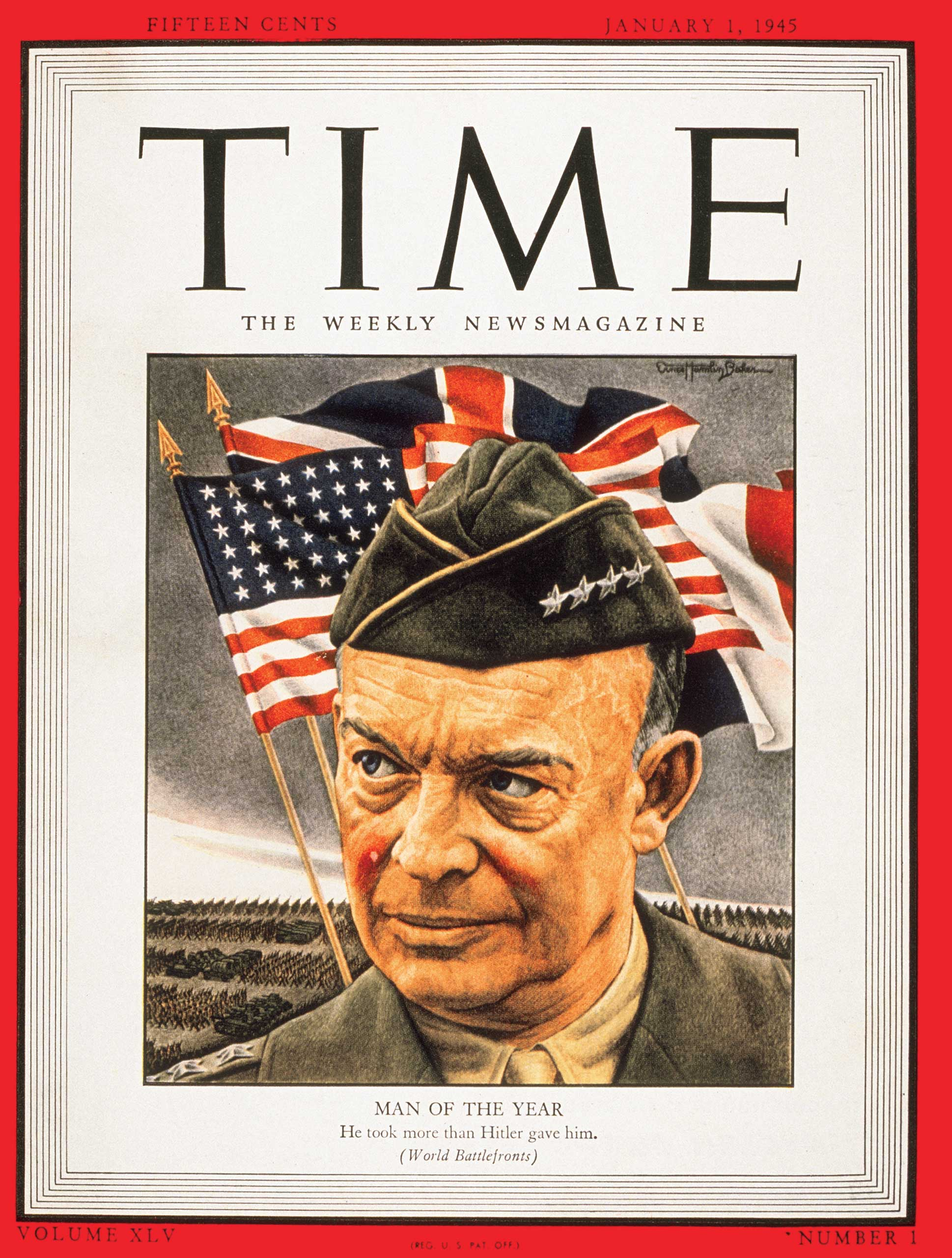 1944: Dwight D. Eisenhower