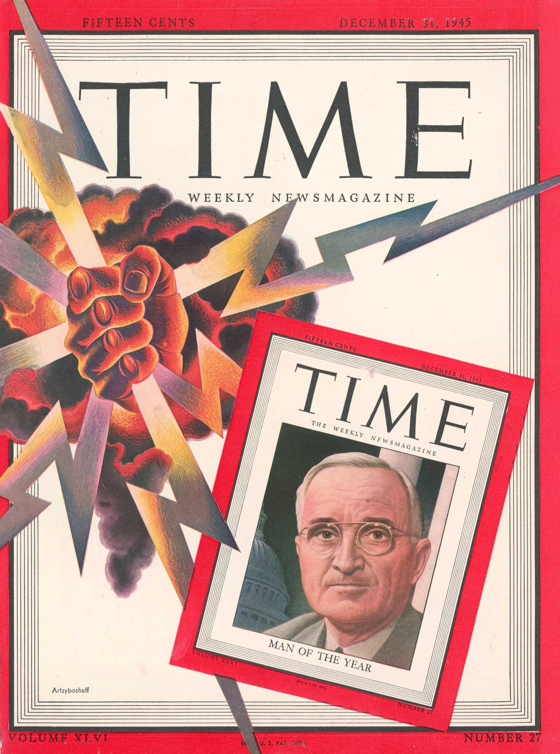 1945: President Harry S. Truman