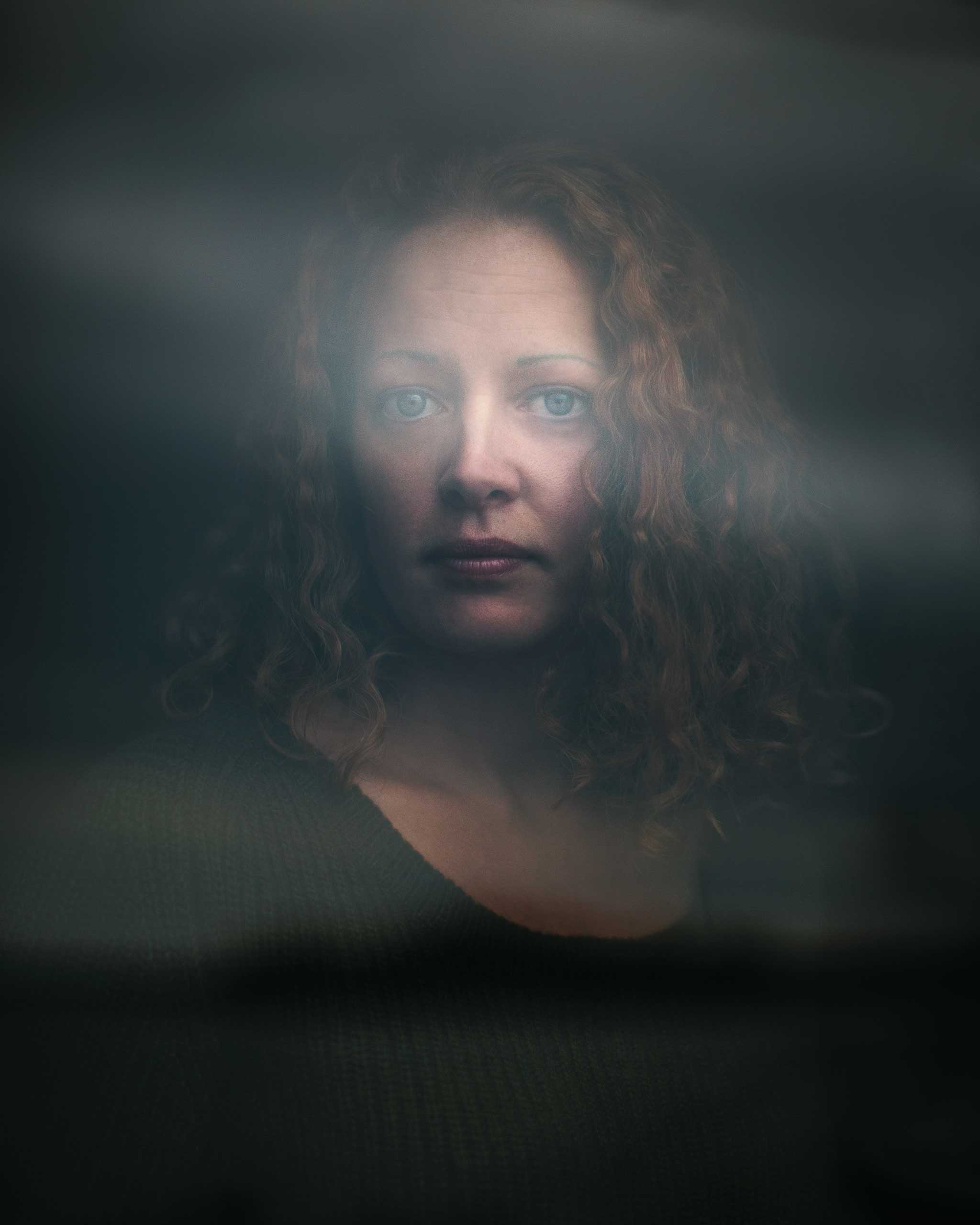 Nurse Kaci Hickox photographed outside her relatives home Freeport Maine. Nov. 16, 2014. Hickox was quarantined in New Jersey after treating Ebola victims in Sierra Leone.