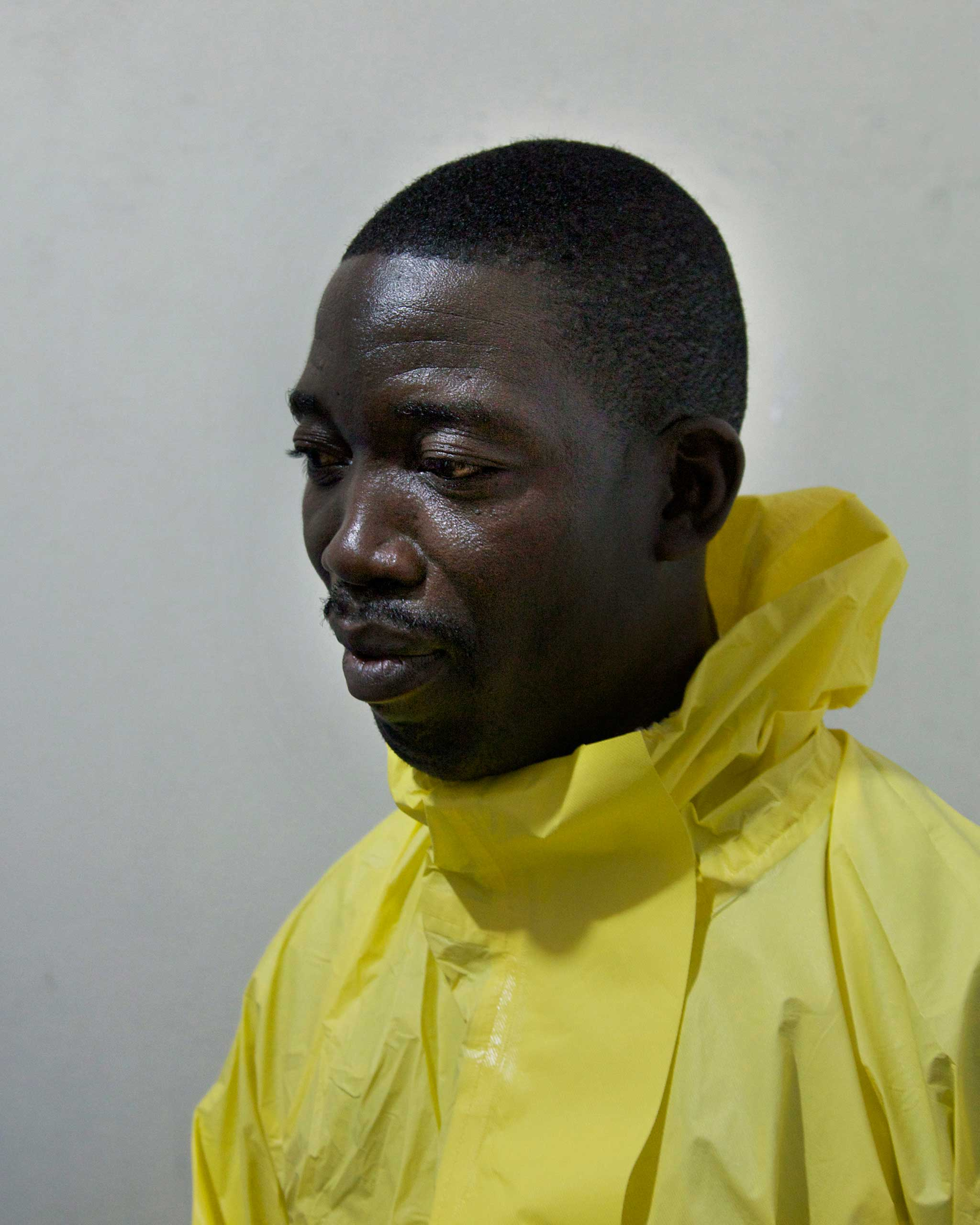 Dr. Jerry Brown, 46, Medical Director of ELWA Hospital in Monrovia, Liberia. Nov. 27, 2014