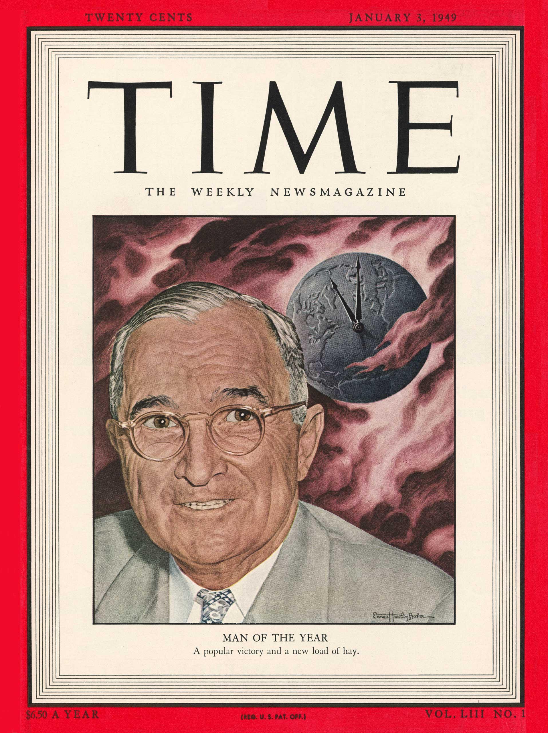 1948: President Harry S. Truman