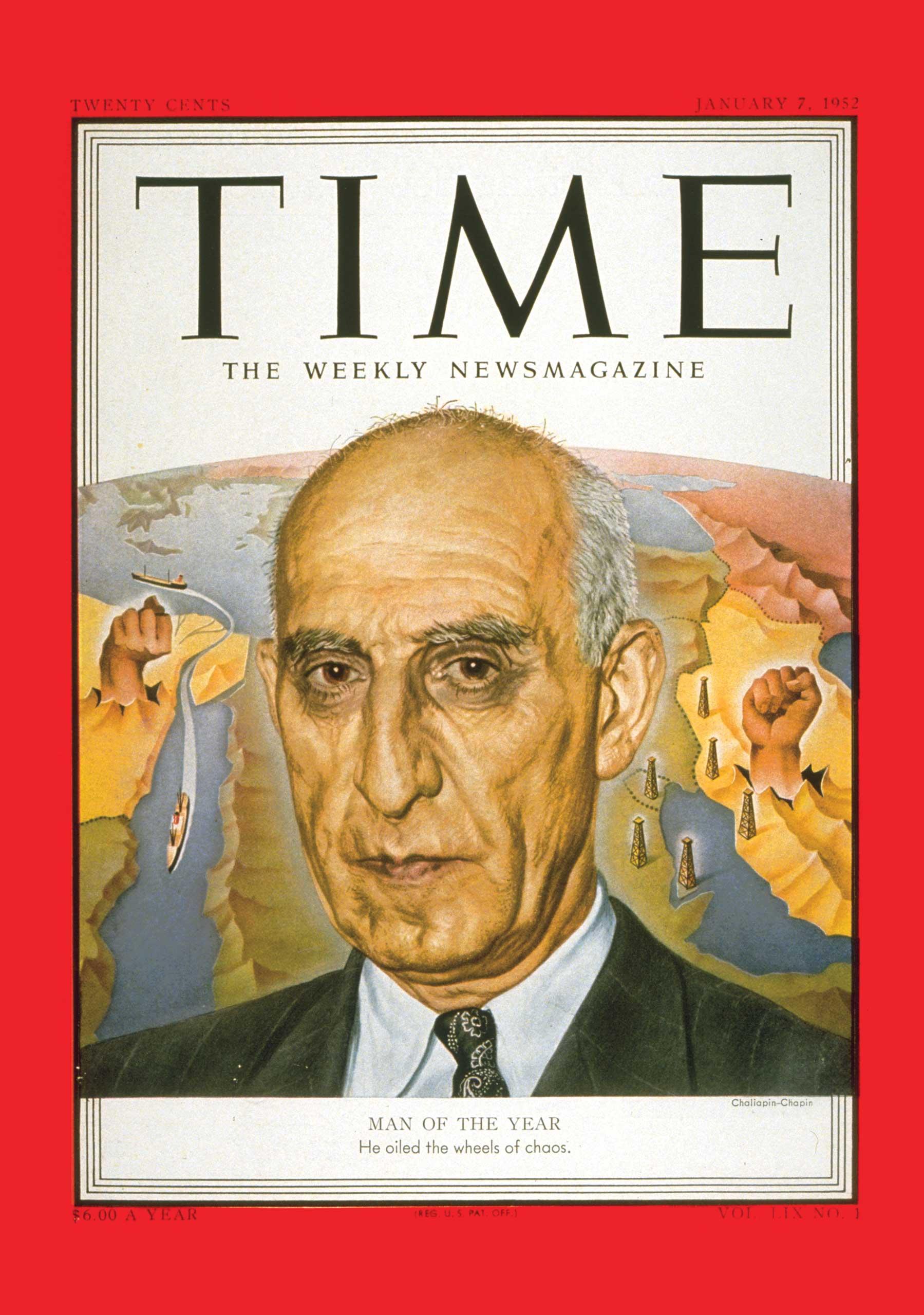 1951: Mohammad Mossadegh