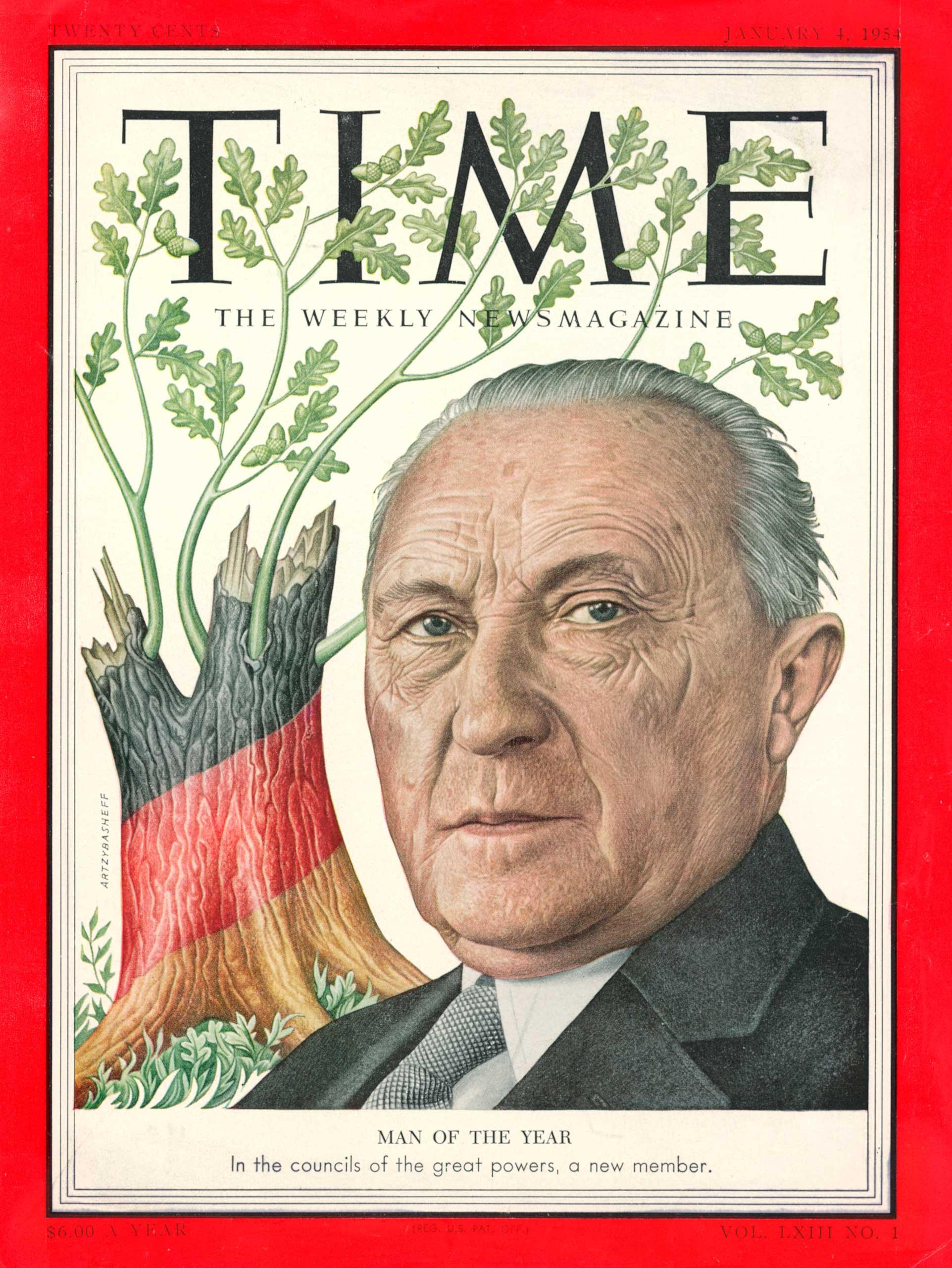 1953: Konrad Adenauer
