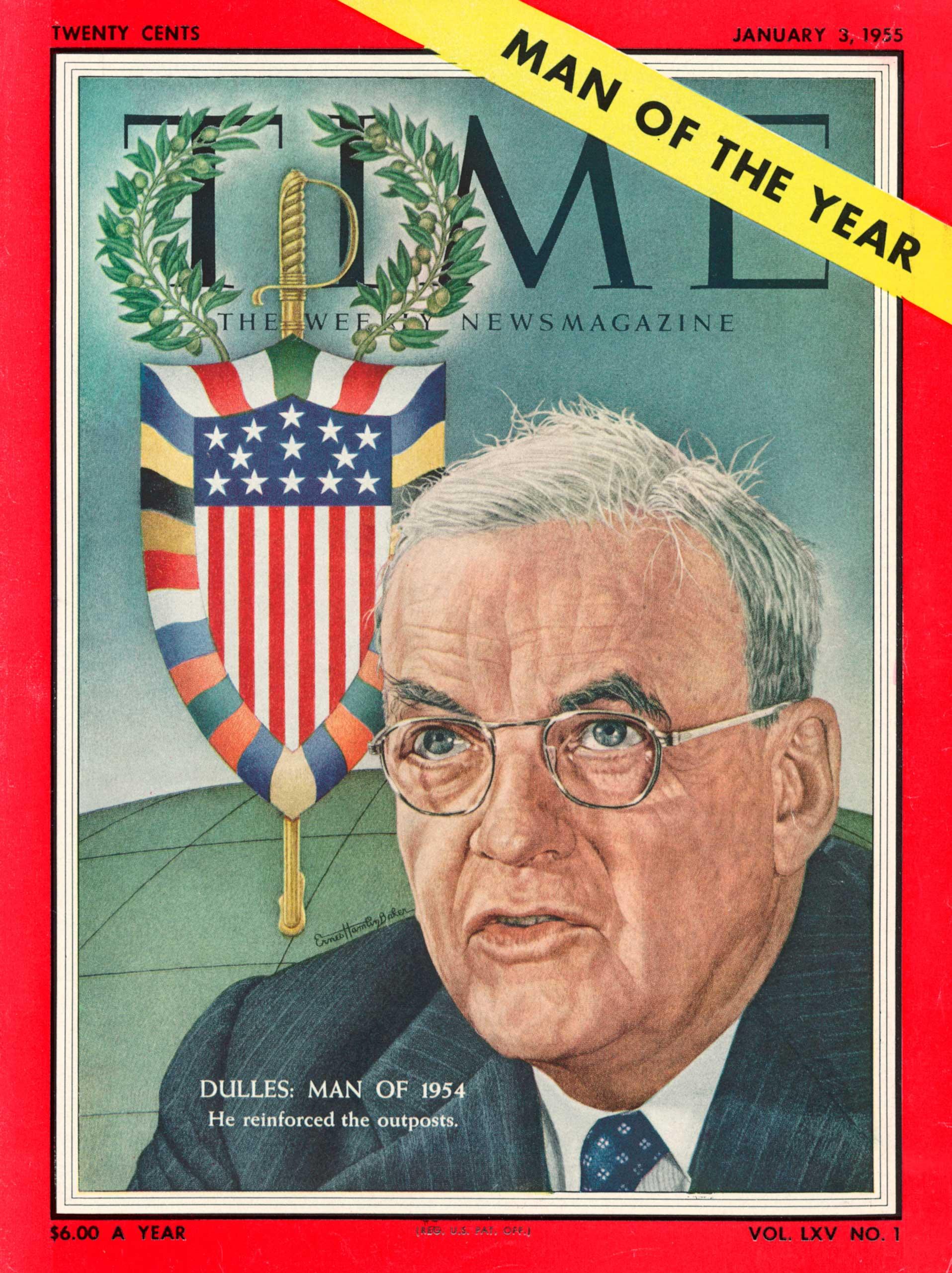 1954: John Foster Dulles