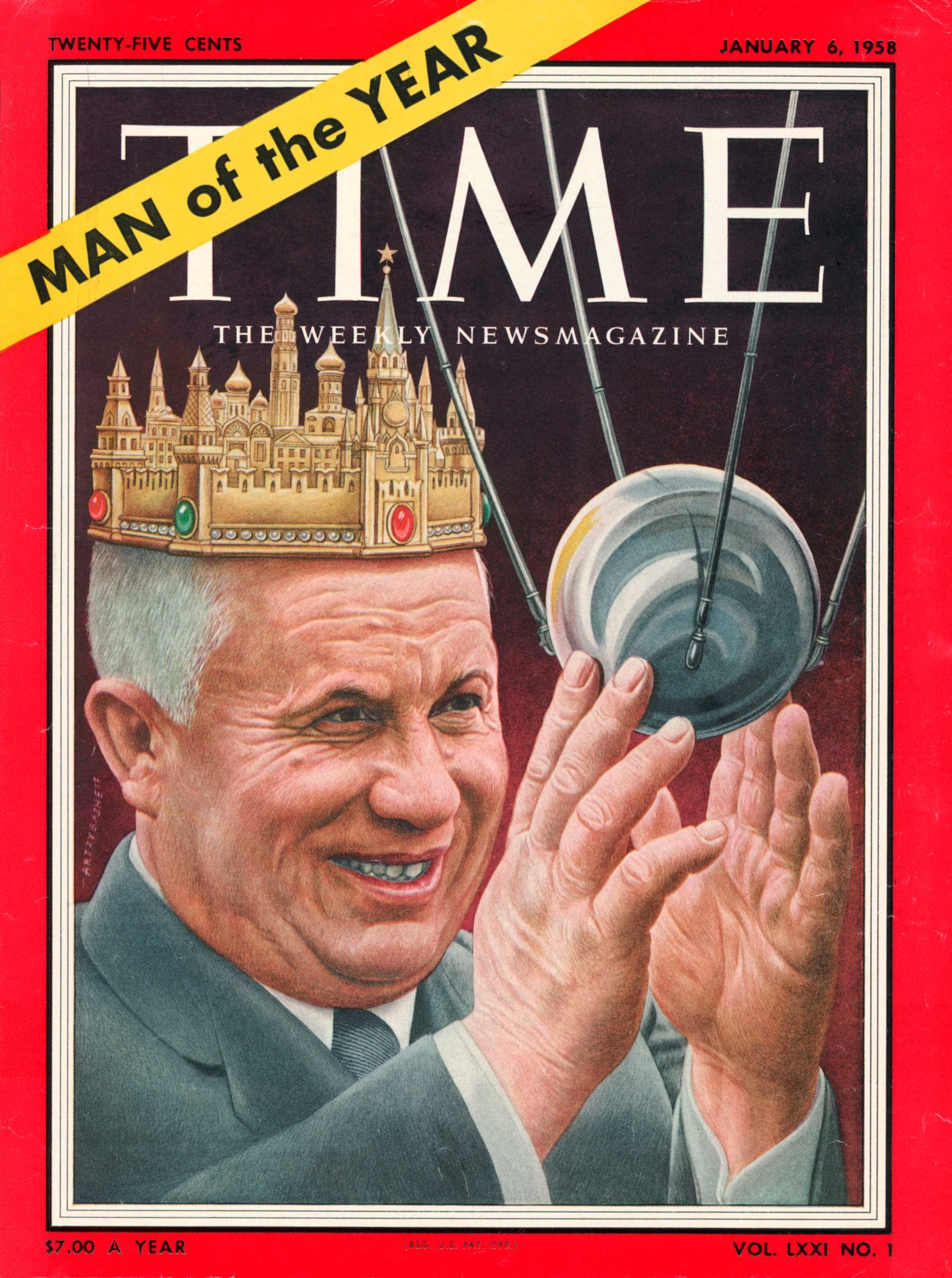 1957: Nikita Khrushchev
