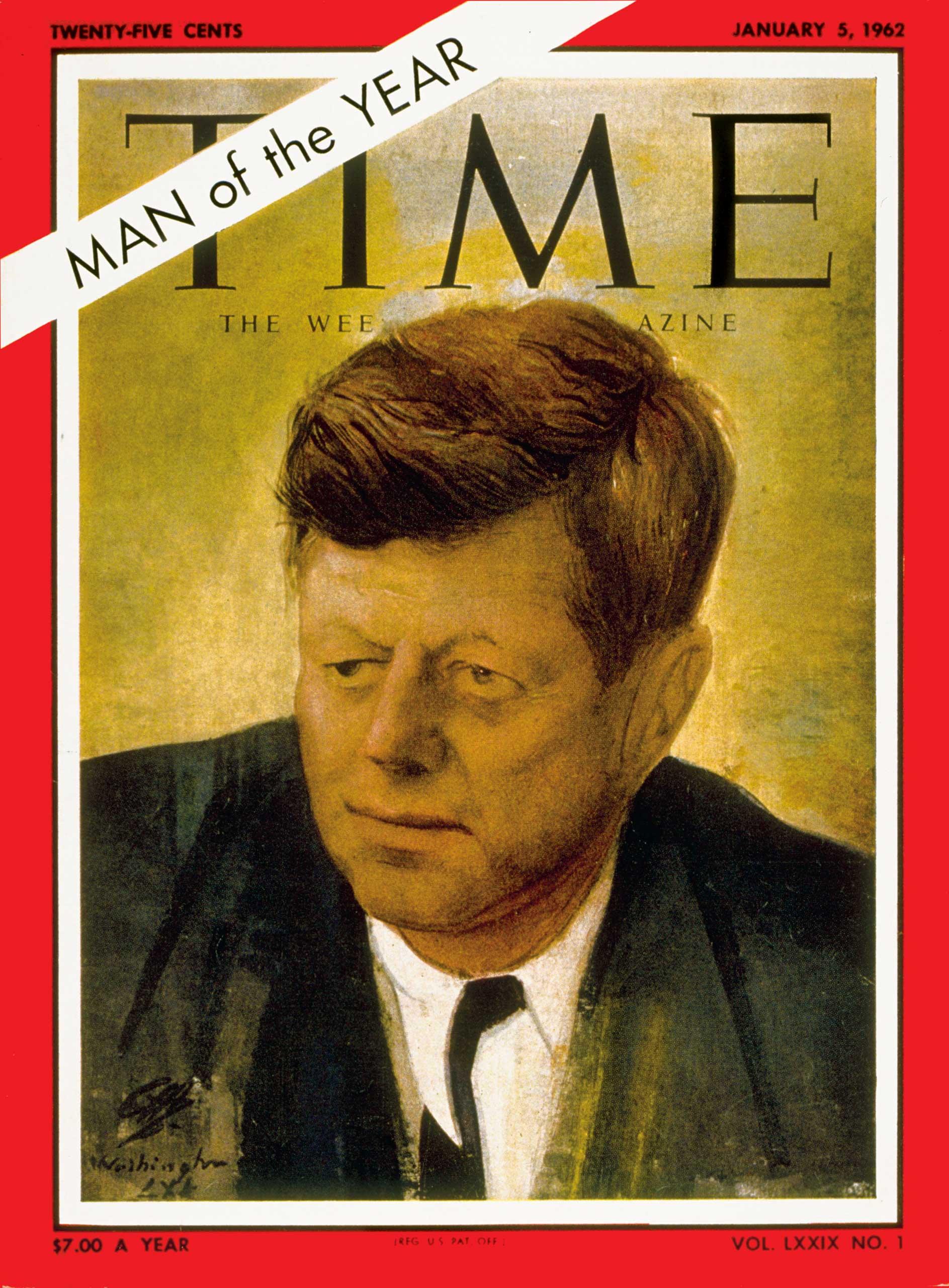 1961: President John F. Kennedy