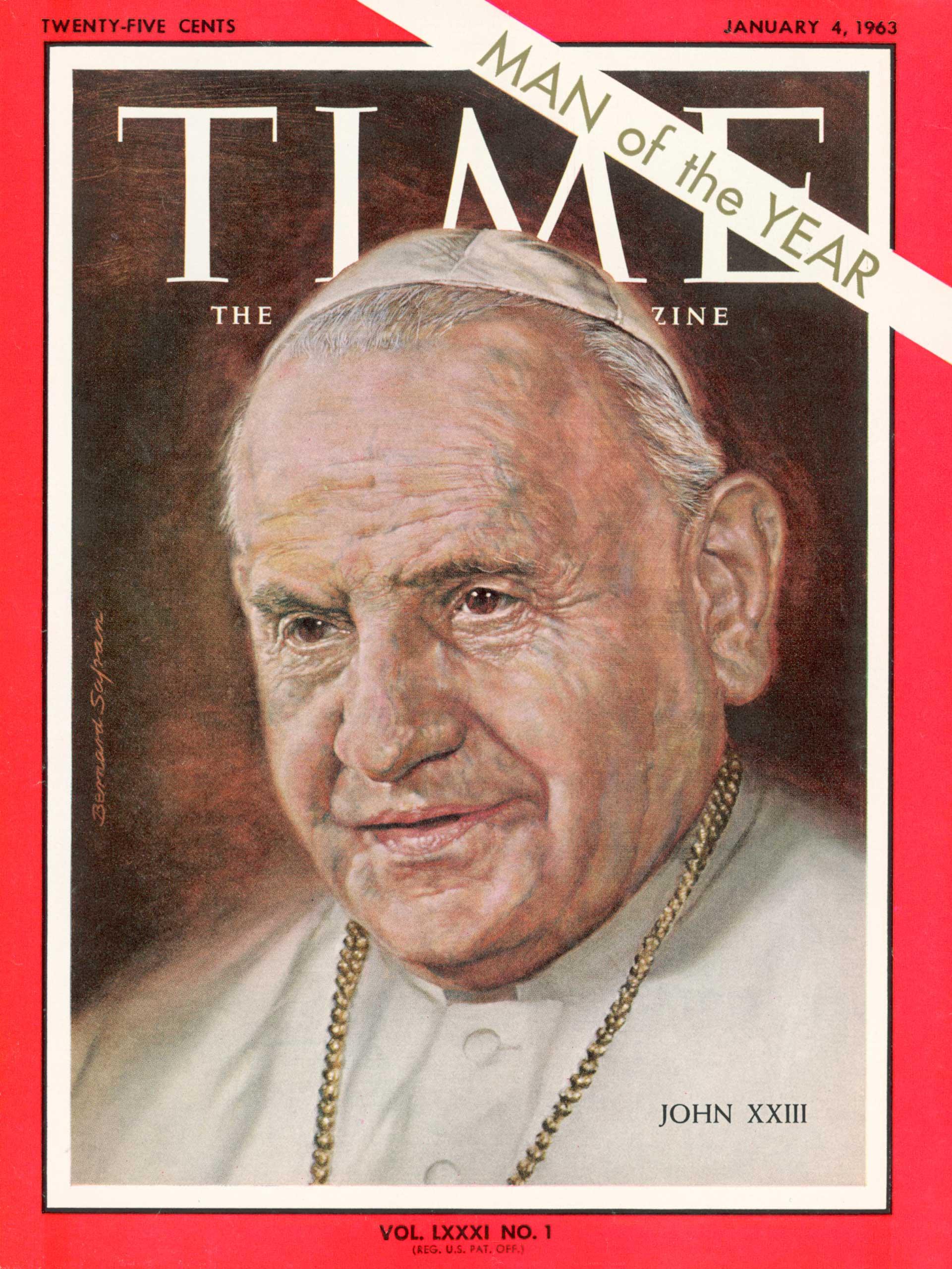 1962: Pope John XXIII