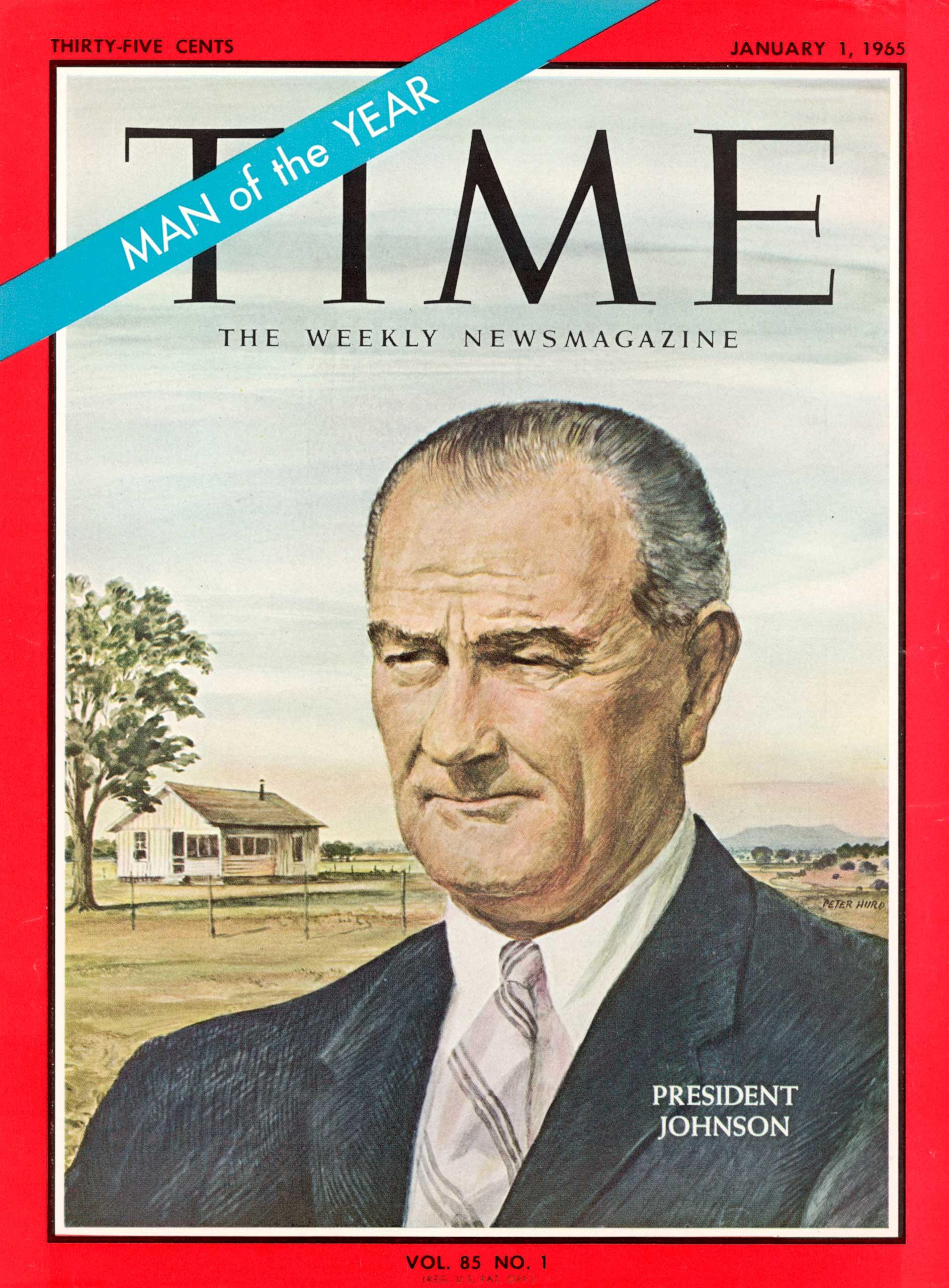 1964: Lyndon B. Johnson