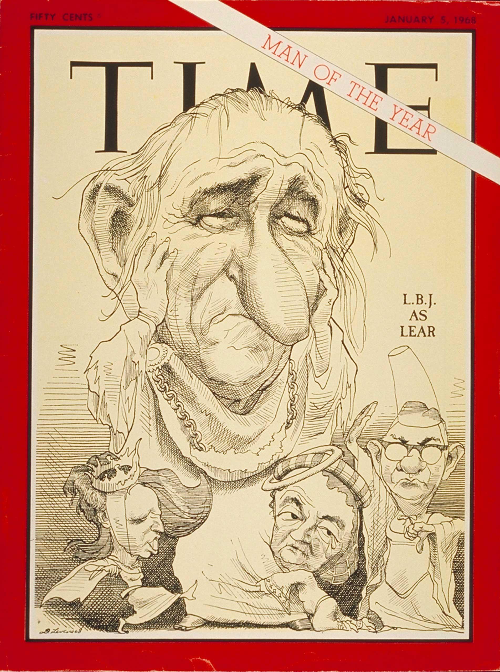 1967: President Lyndon B. Johnson