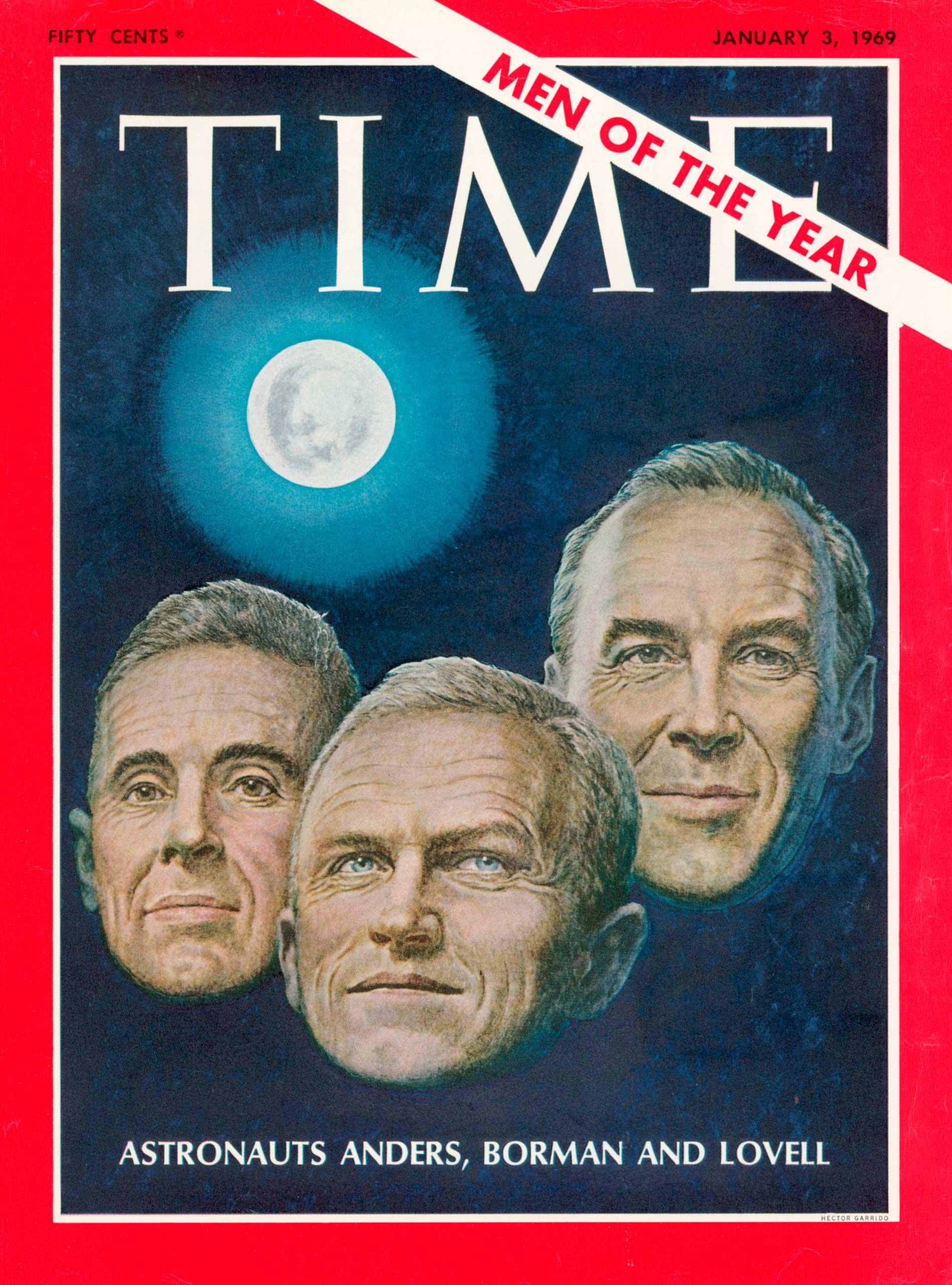 1968: The Apollo 8 astronauts