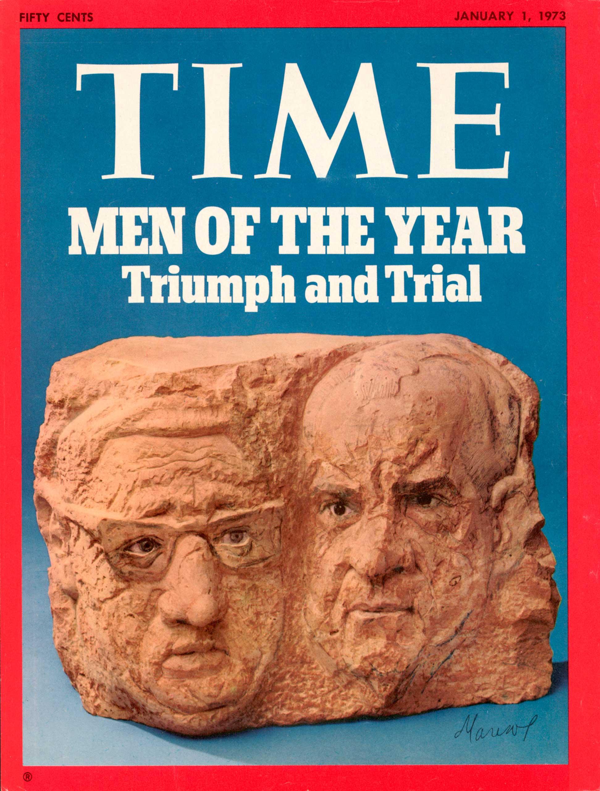 1972: President Richard Nixon and Henry Kissinger